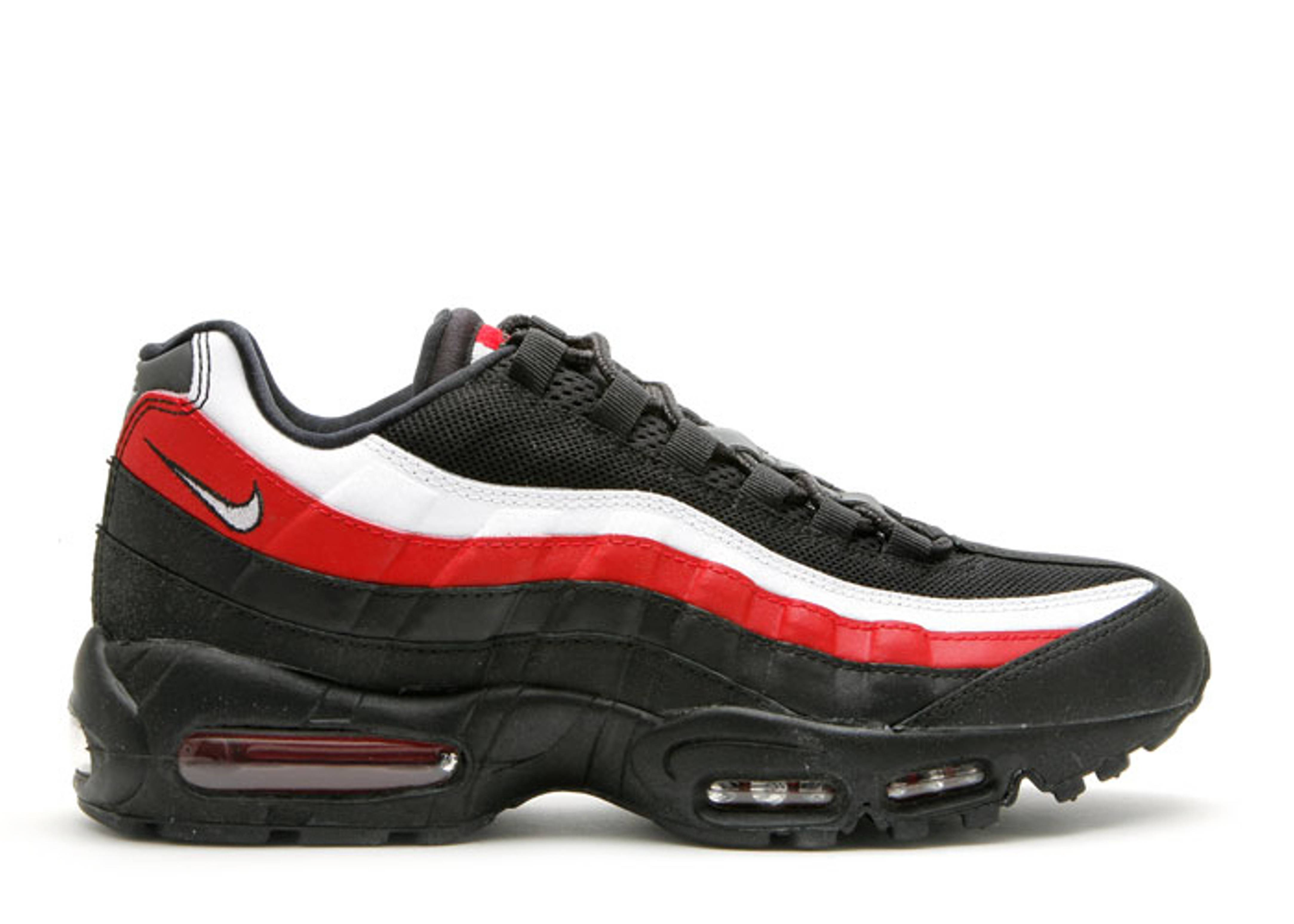 huge selection of 6768b 6db52 discount nike air max 95 black red red and white 37b2a 1f015
