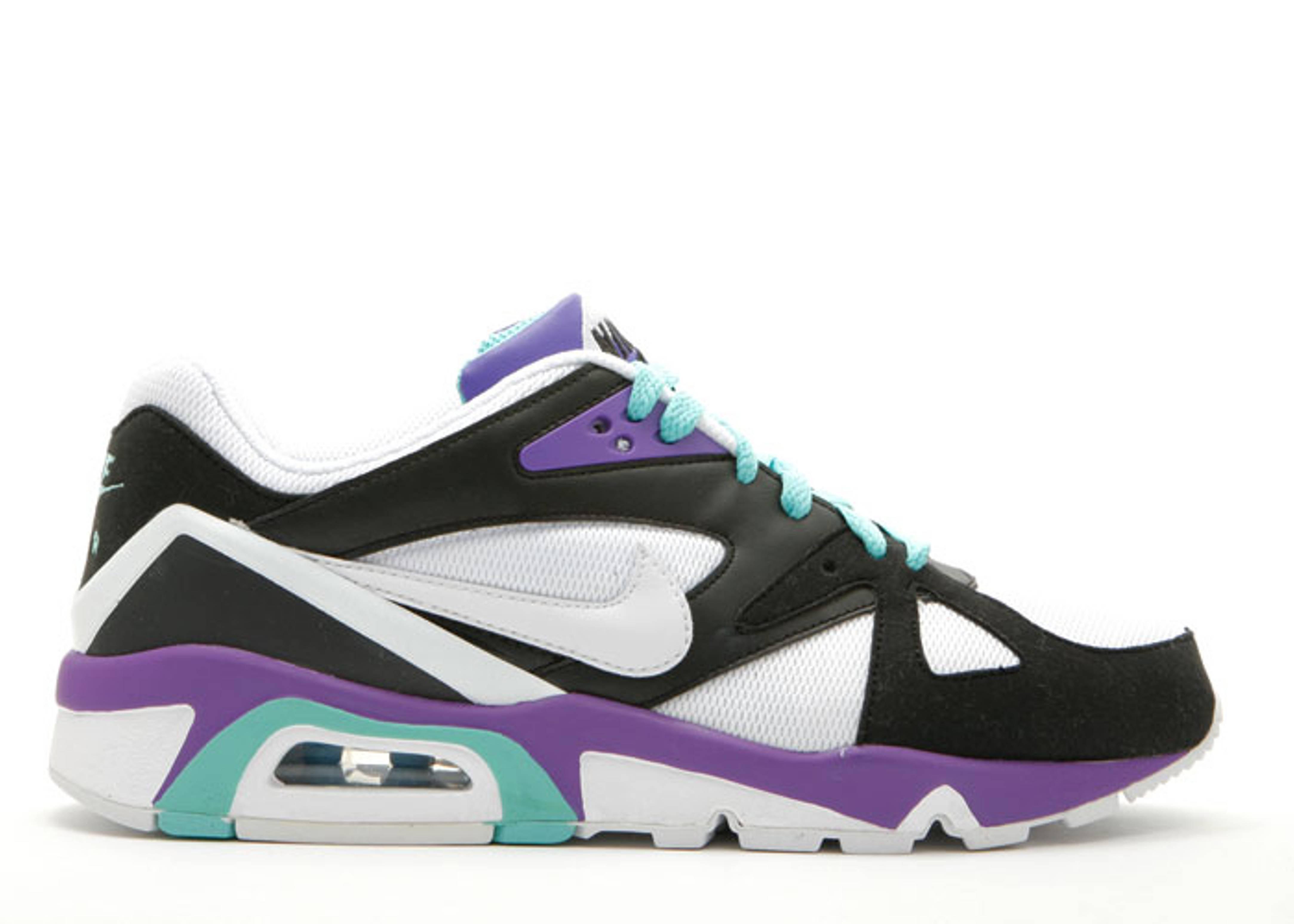 Air Structure Triax 91 - Nike - 318088 011 - black white-mint-pure purple  0318ea3b95