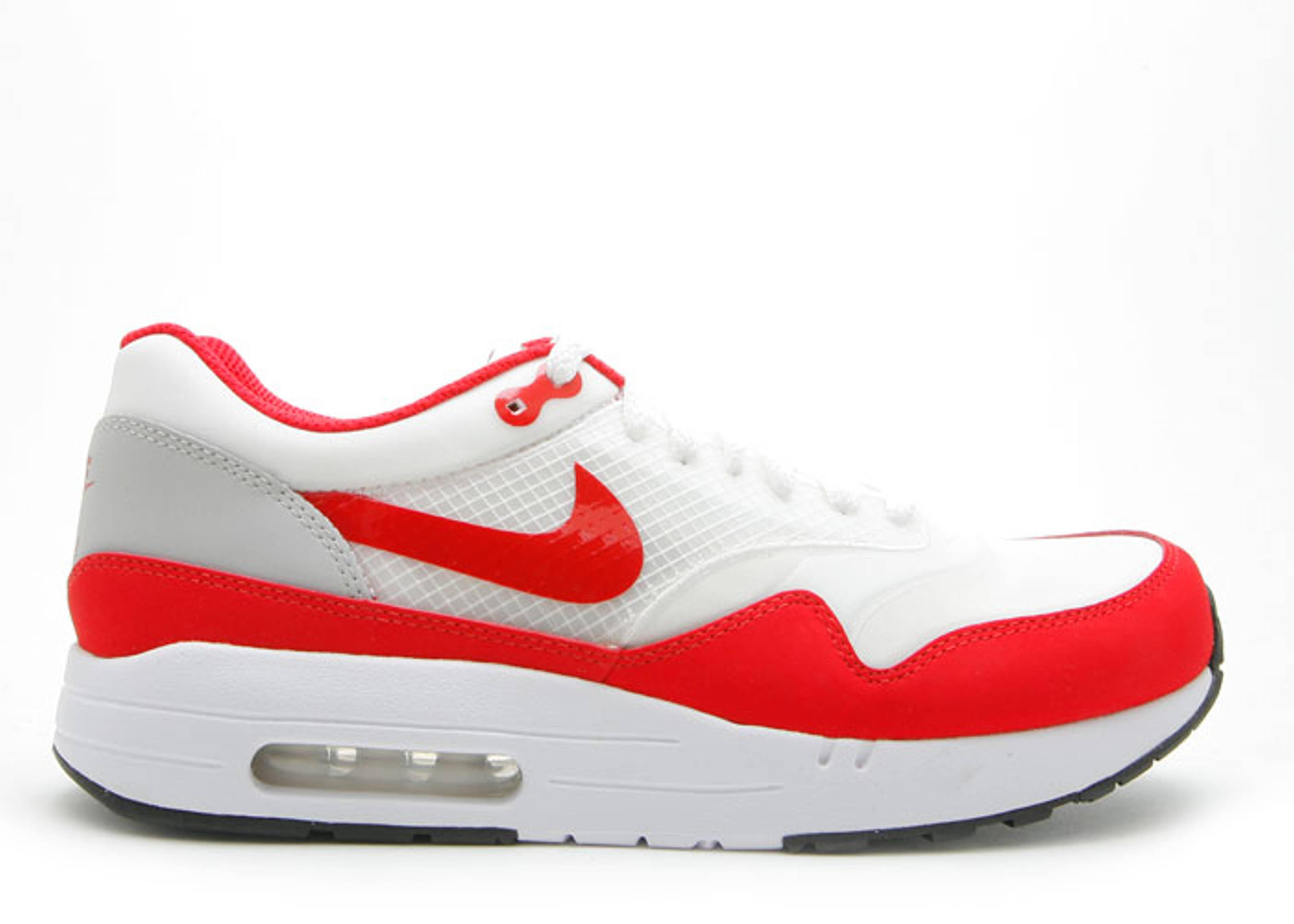 3a6566f4a96d Air Maxim 1+ - Nike - 366488 161 - white sport red-neutral grey ...
