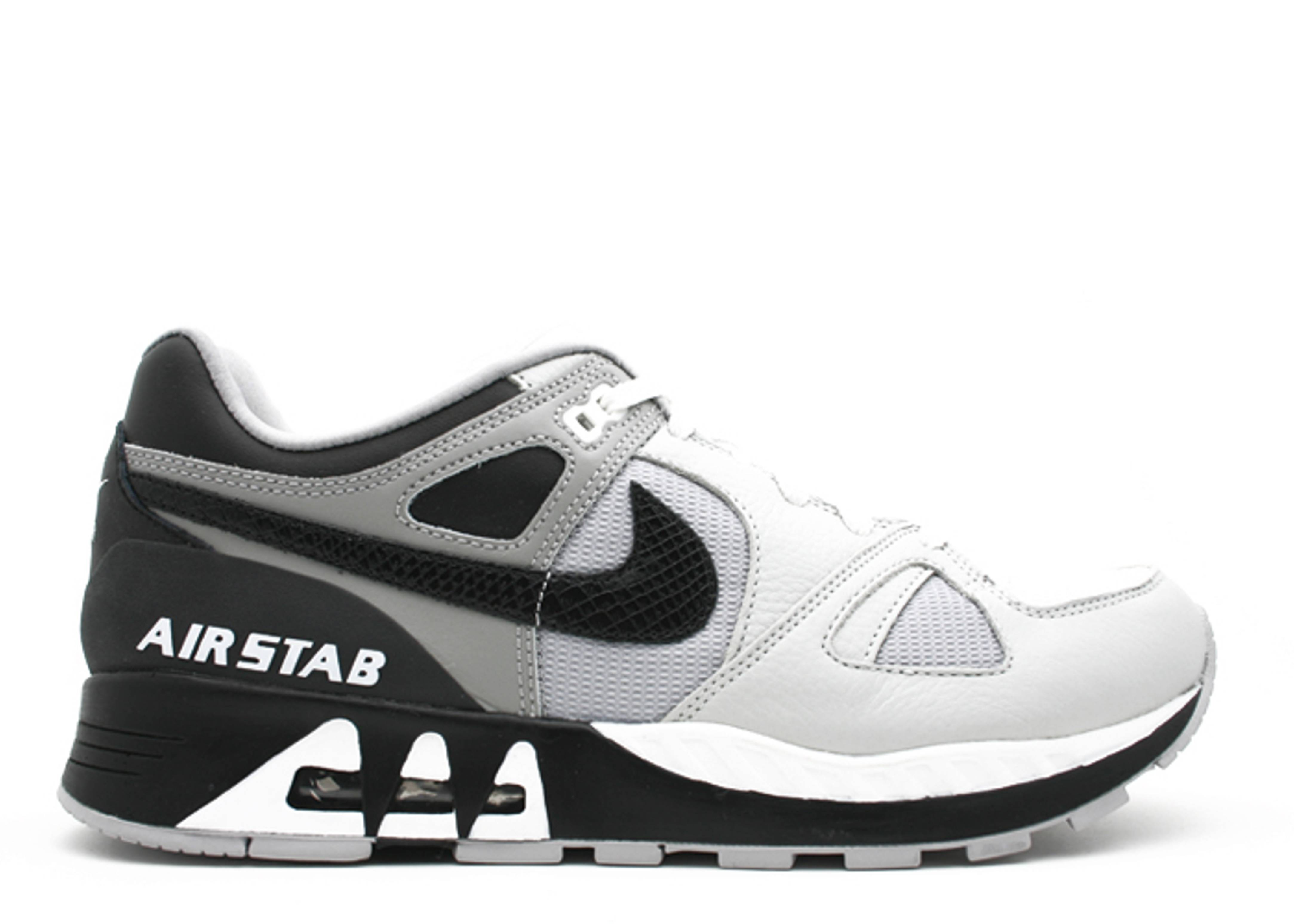 hot sale online fe089 f14ca Air Stab - Nike - 316402 101 - white black light charcoal metallic ...