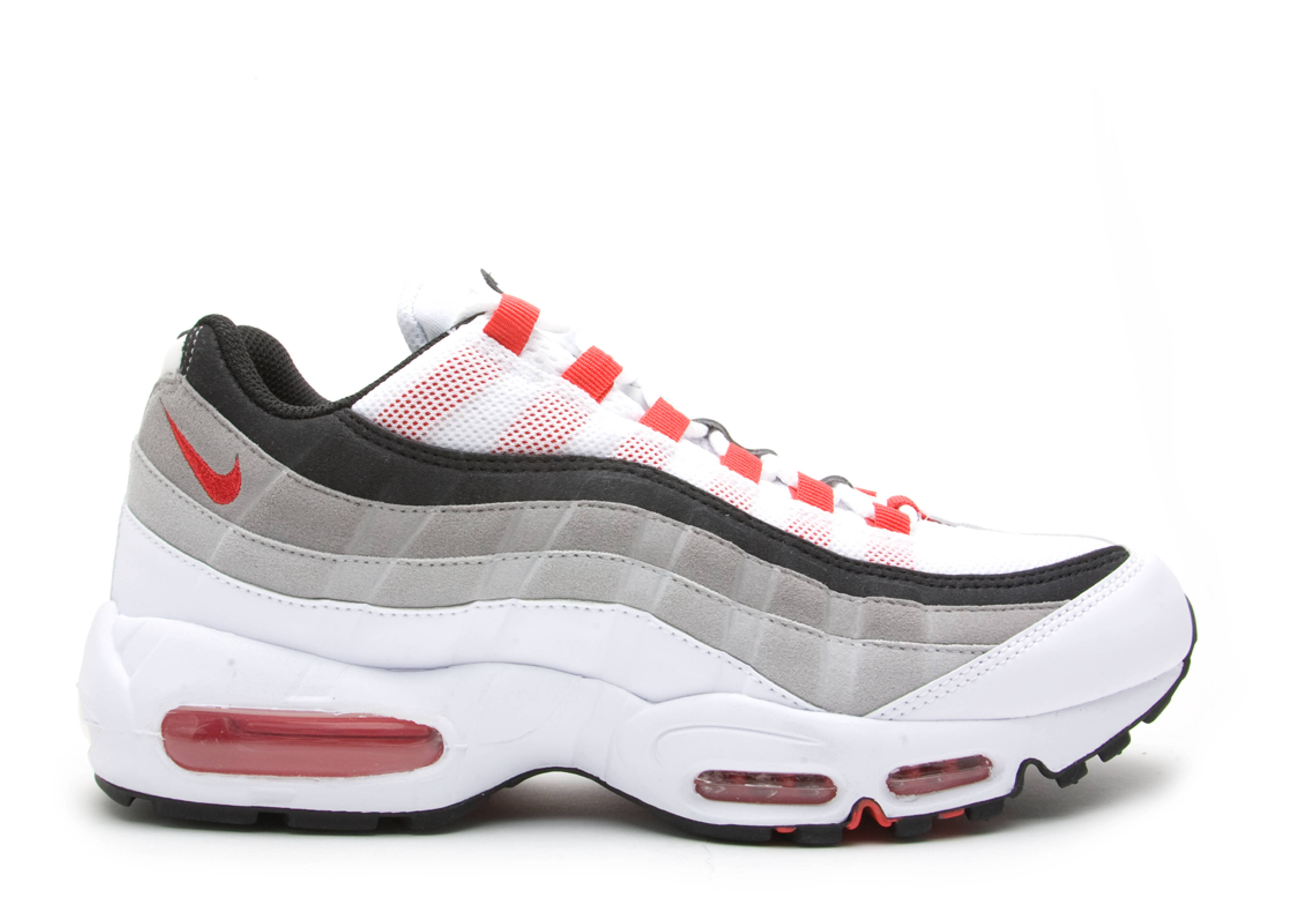 detailed look 215fc ddb61 Air Max 95 - Nike - 609048 100 - white cmt red-ntrl gry-mdm gry ...
