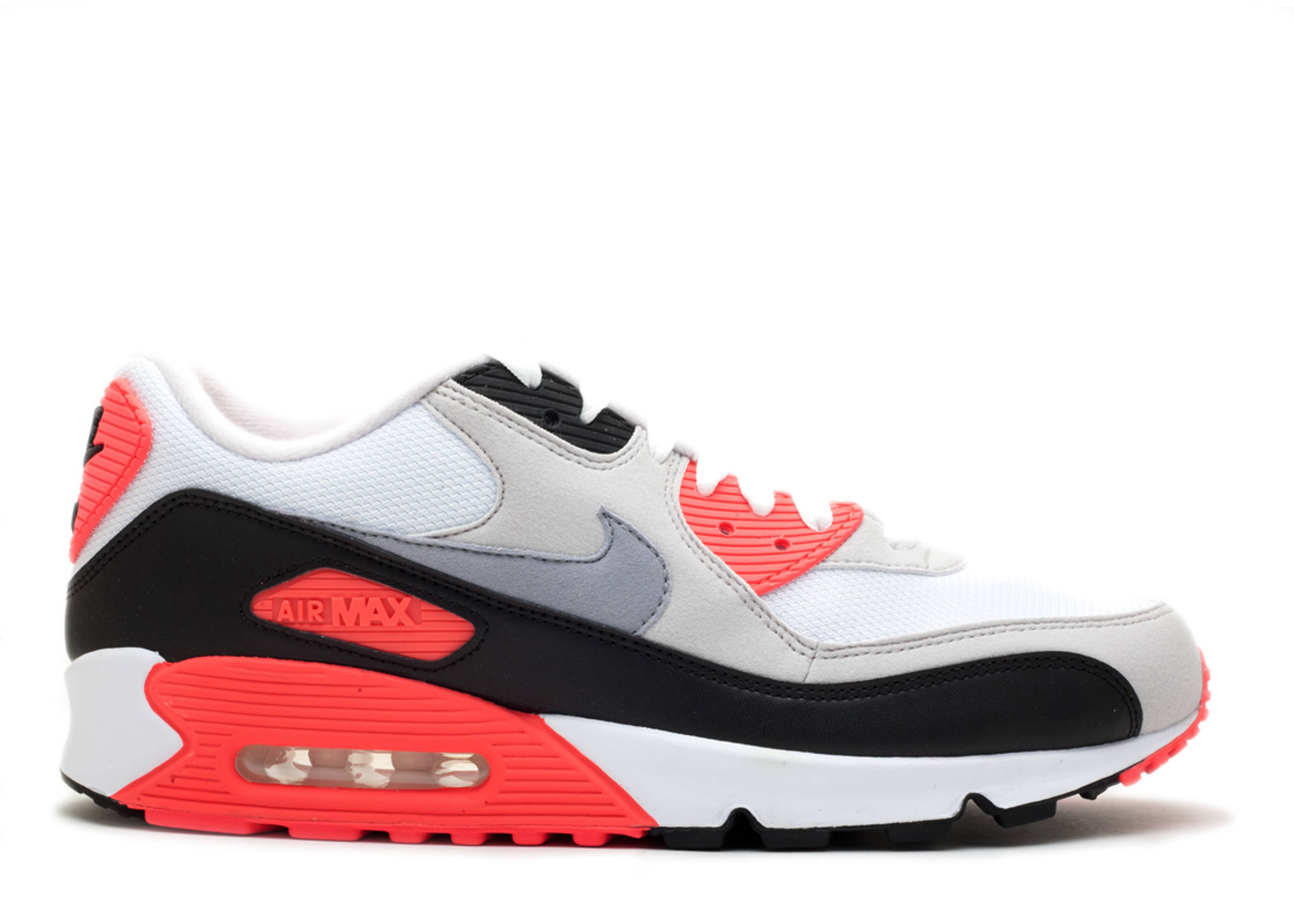 """air max 90 """"infrared 2010 release"""""""