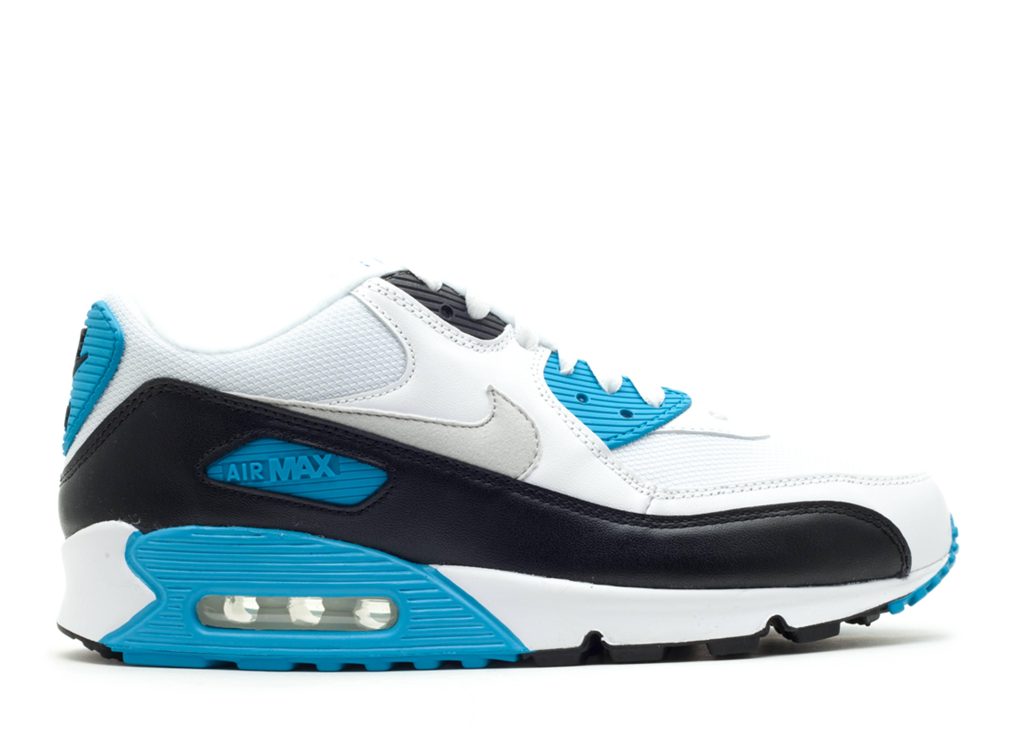 Air Max 90 White Black Zen Grey Nike 325018 108 White Black Zen Grey Flight Club