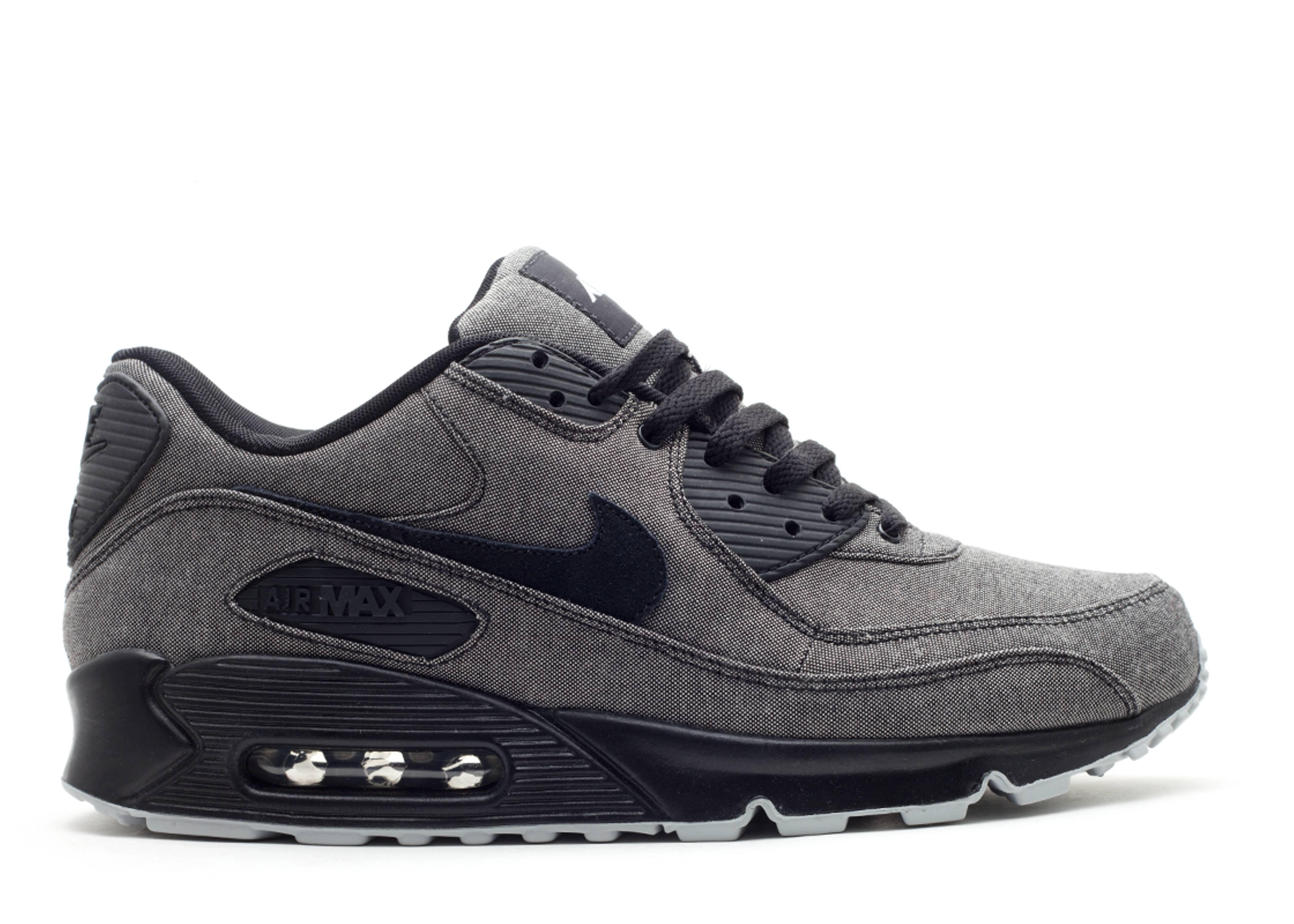 wholesale dealer 1da54 7f3a3 Air Max 90 - Nike - 325018 007 - black black-metallic silver   Flight Club