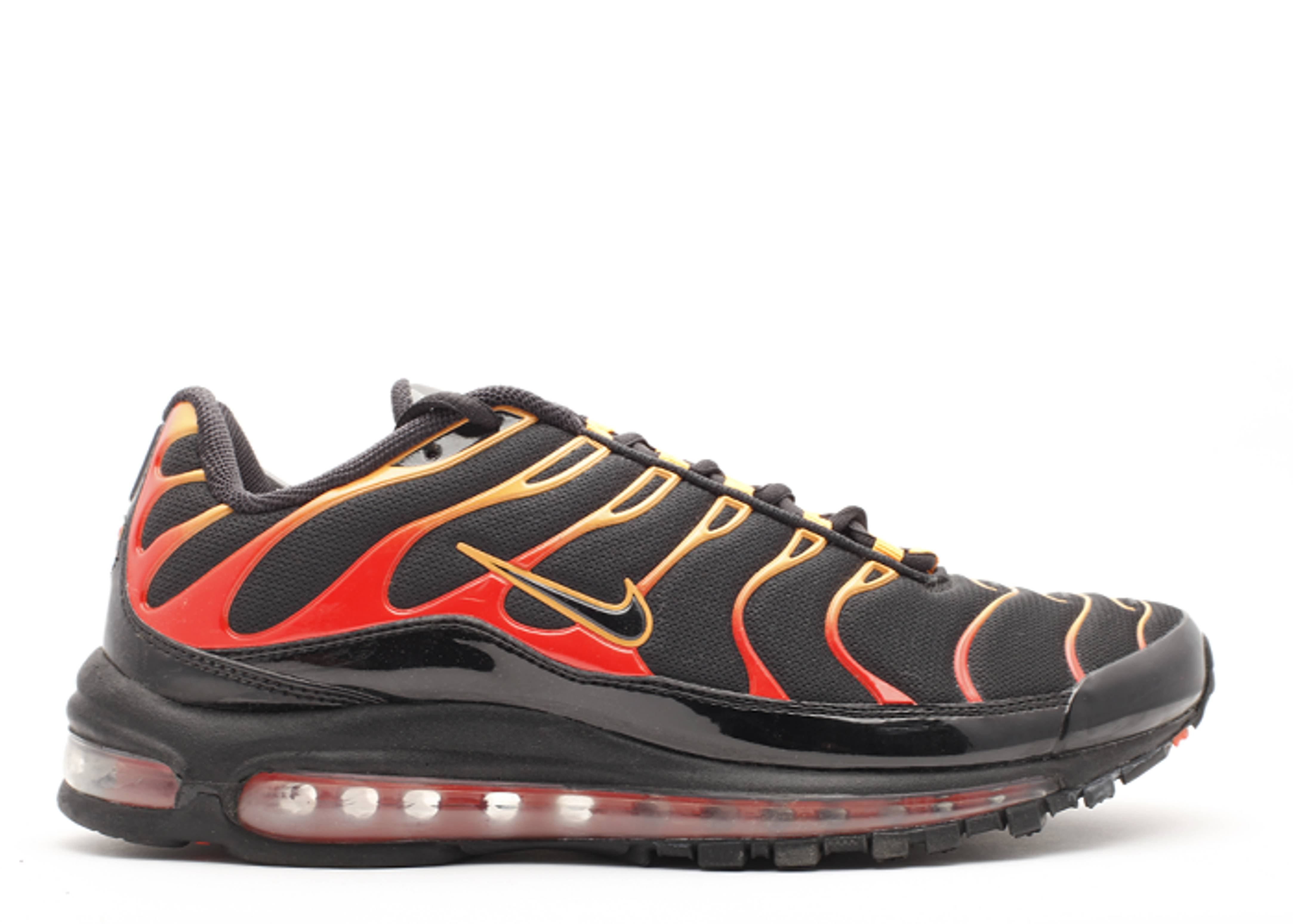 3411be8f Air Max Plus 97 - Nike - 327455 001 - black/black-engine 1-shck orng ...