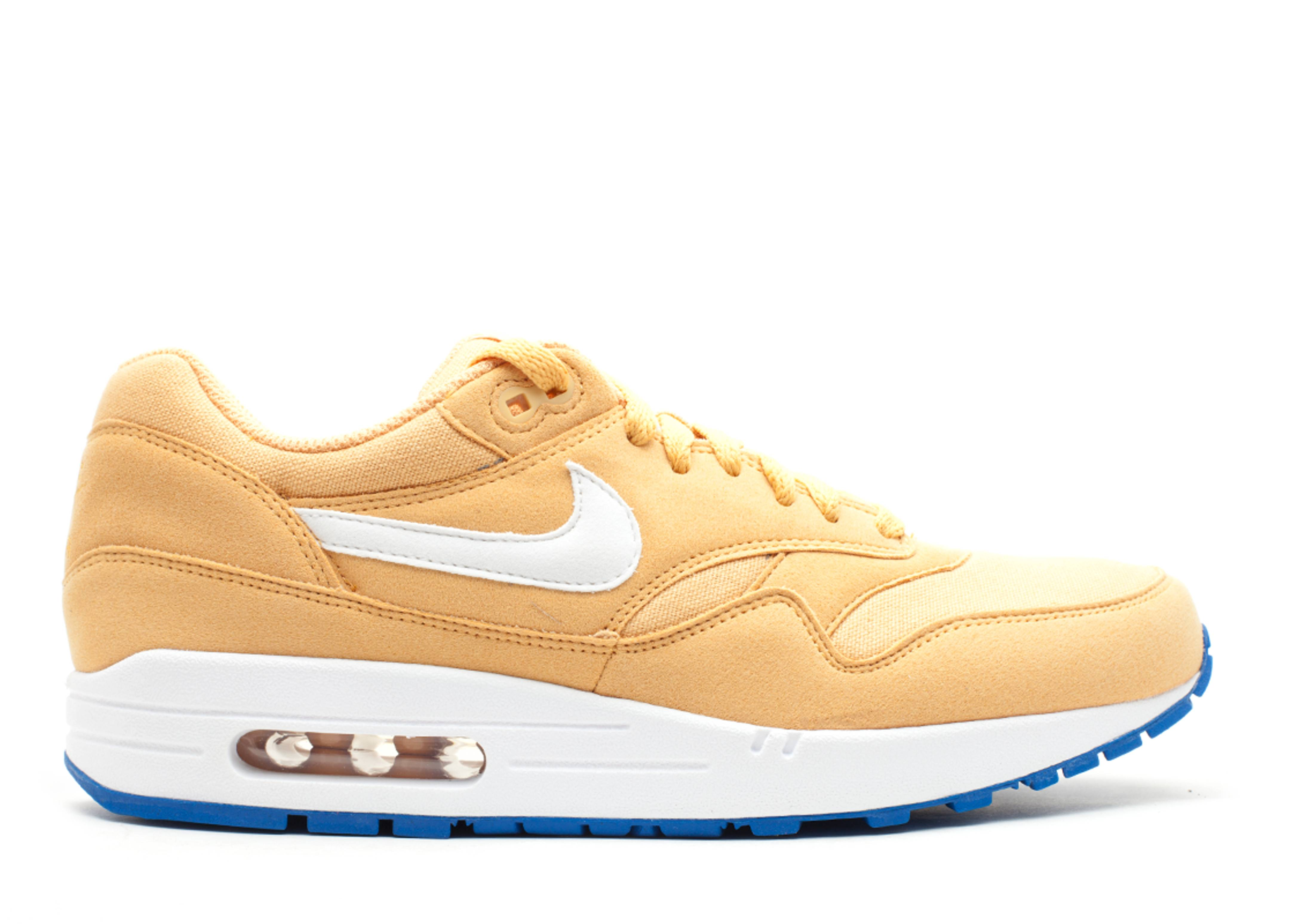 Men's Nike Air Max 1 Honeycomb Blue Spark Sneakers : R89g1370