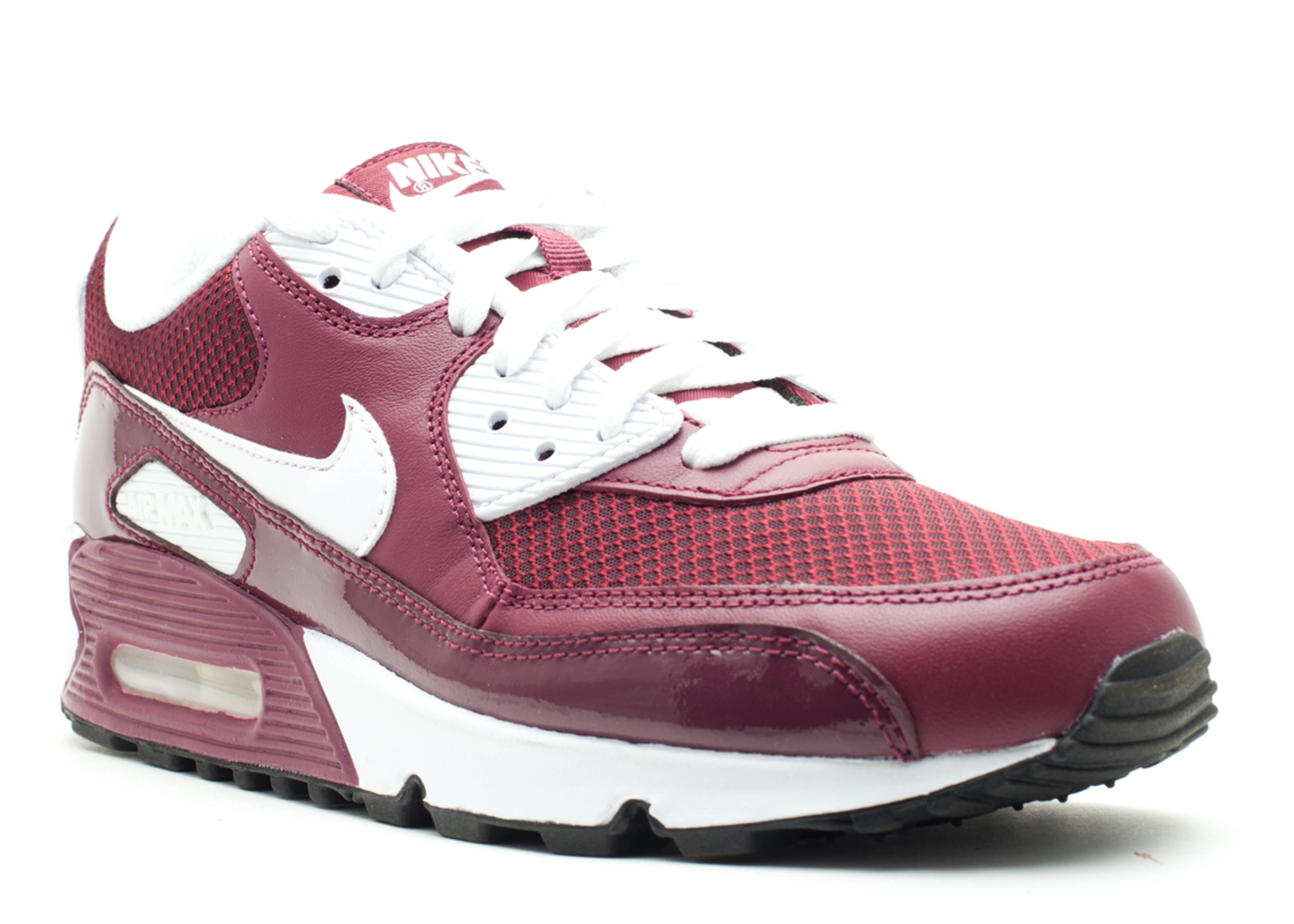 Air Max 90 - Nike - 325018 601 - deep garnet white-anthracite ... 02bd040a3