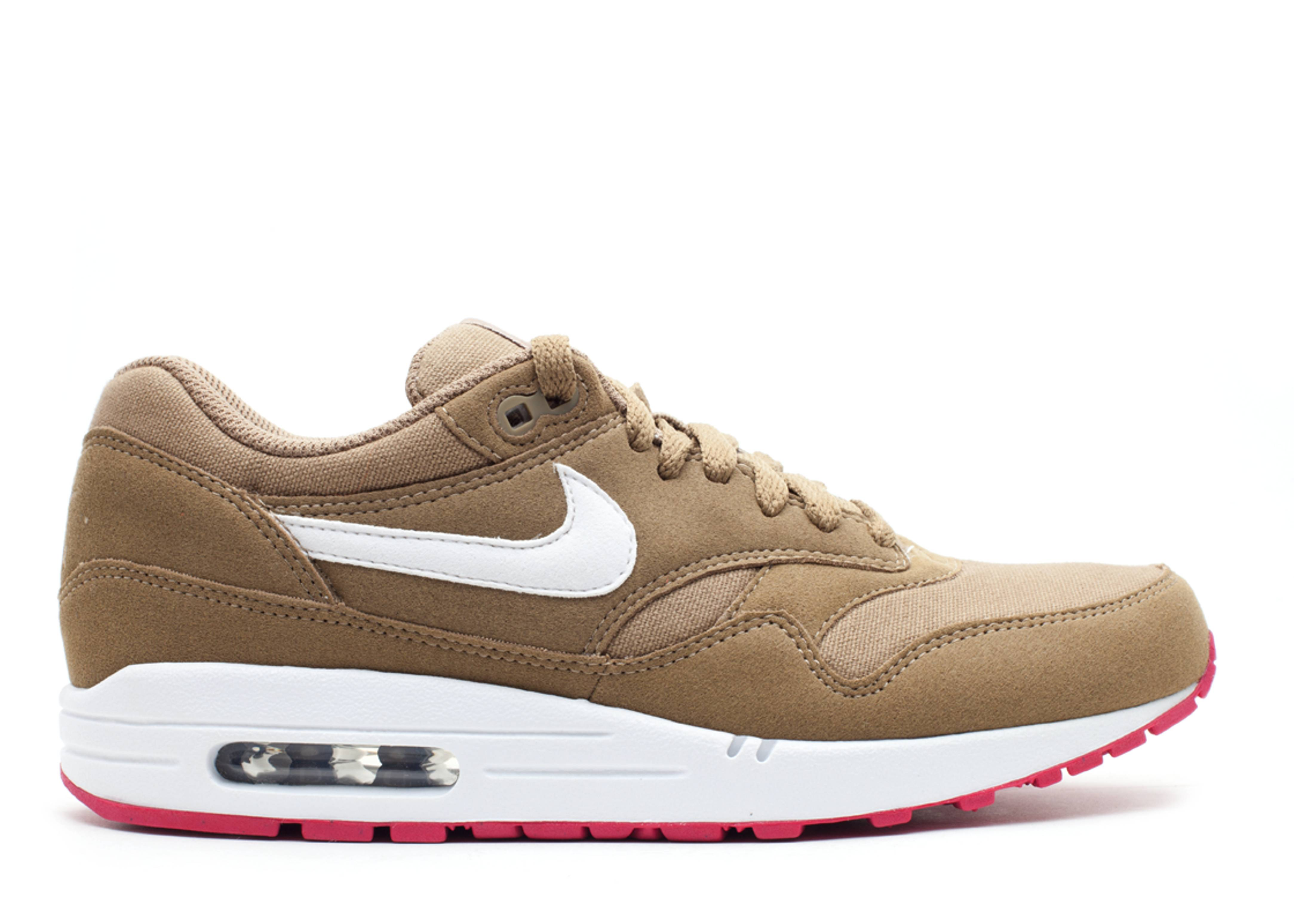 nike air max 1s in brown kelp