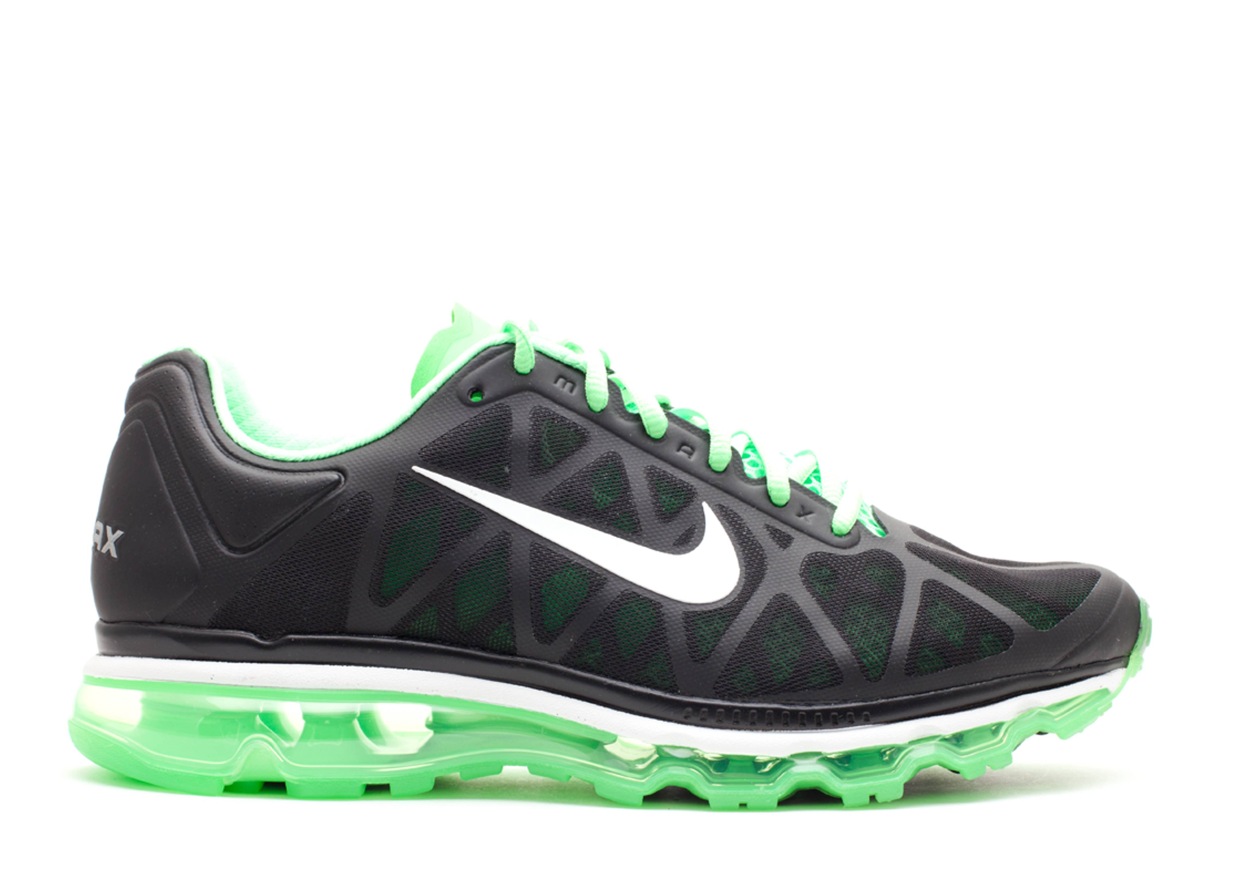 Nike air max 2011 noir et vert lime