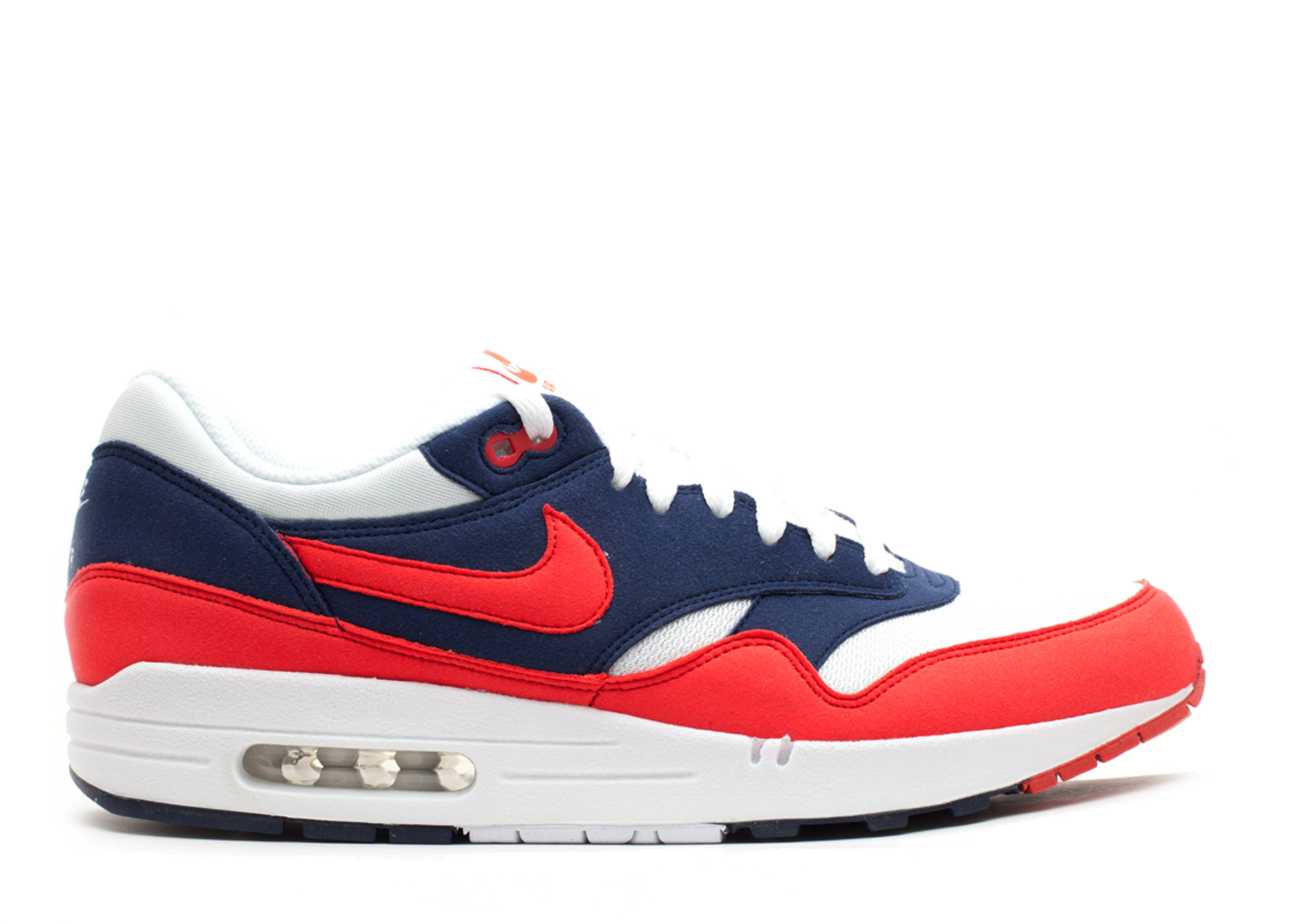 Nike Air Max 1 Midnight Navy Action Red