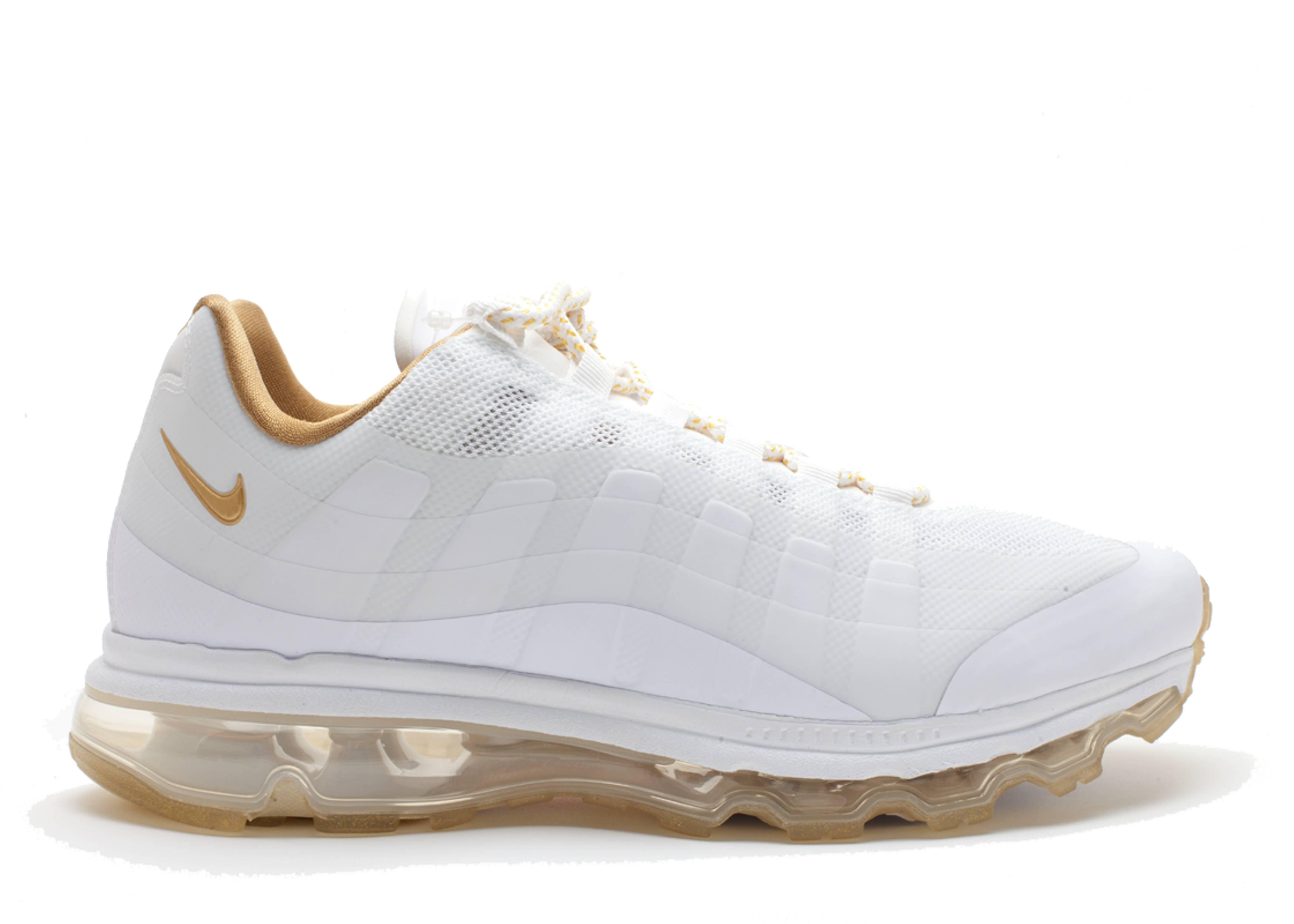 Or Nike Air Max 95 Blanc