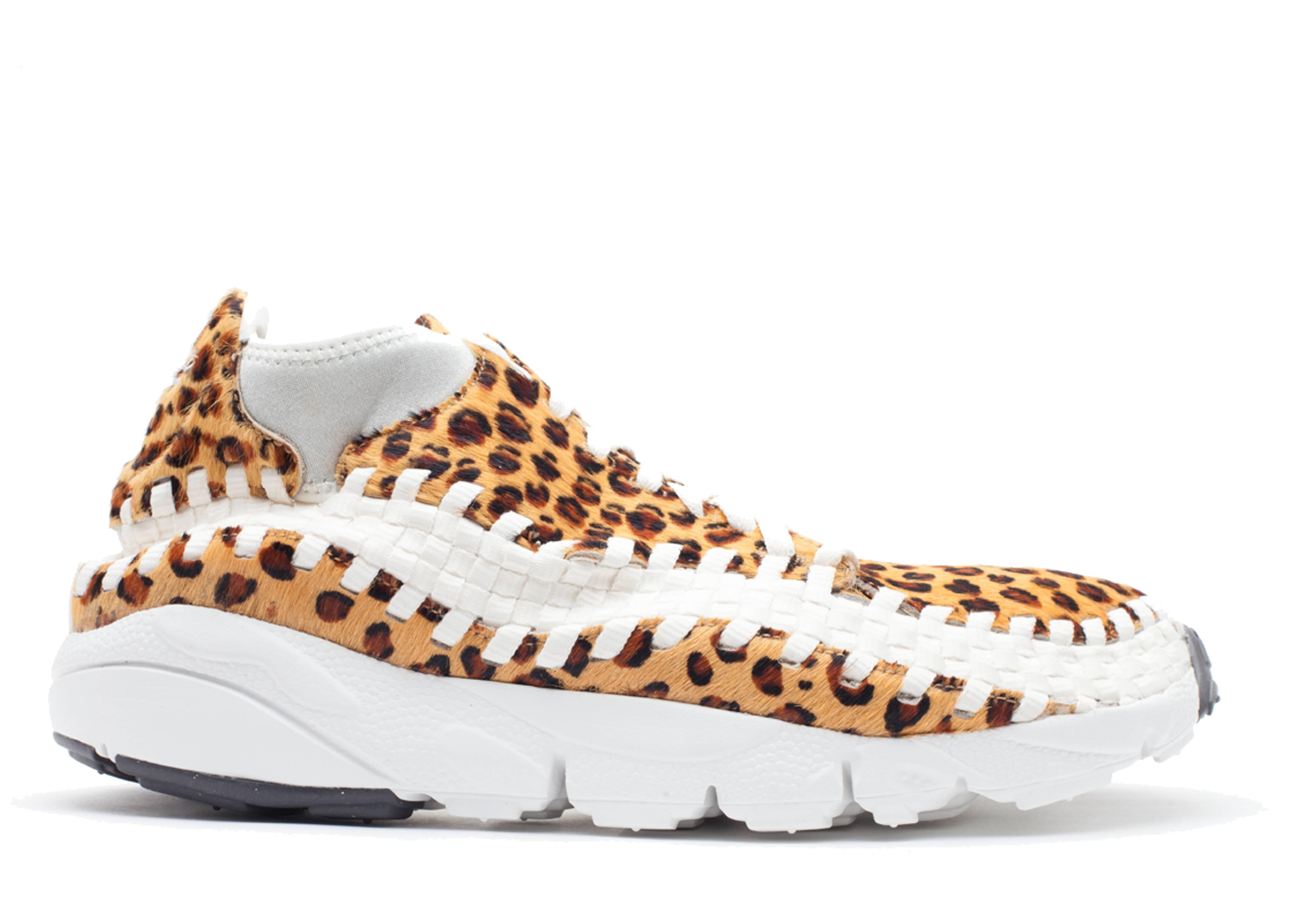 "air footscape woven chukka prm ""leopard"""