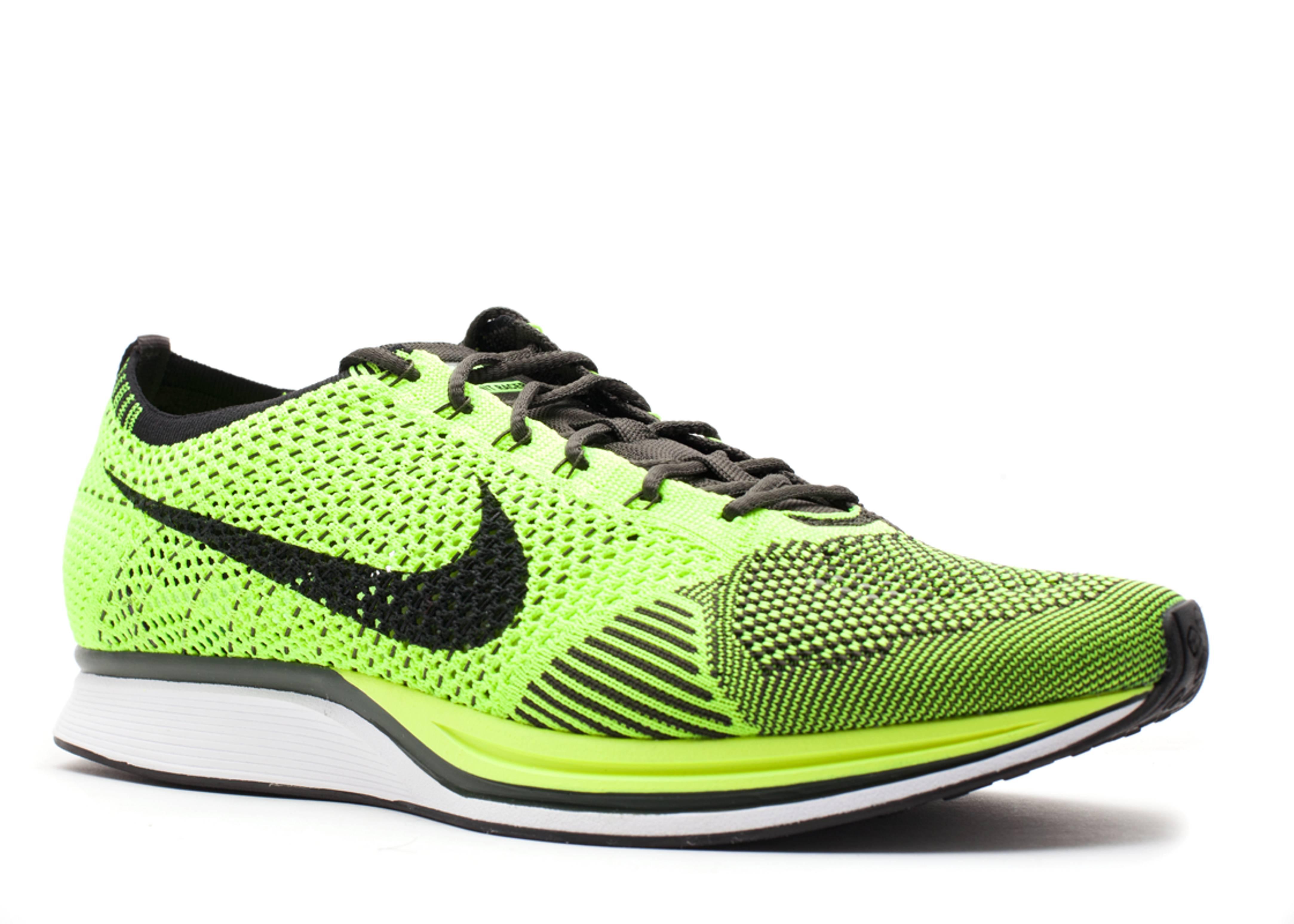 Flyknit Racer - Nike - 526628 721 - voltblack-sequoia Fligh ... fc309f3d4