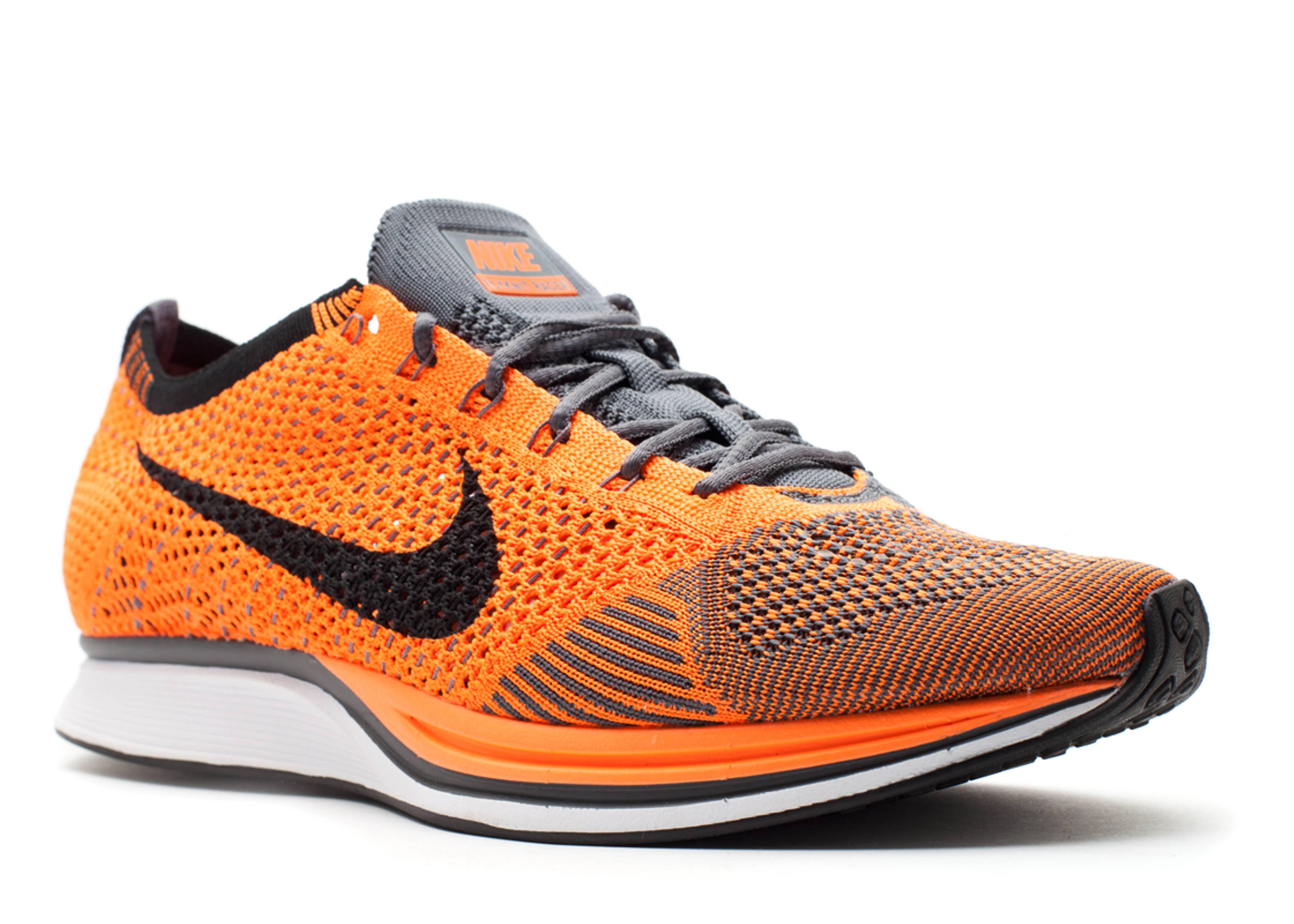 Nike Flyknit Racer Orange