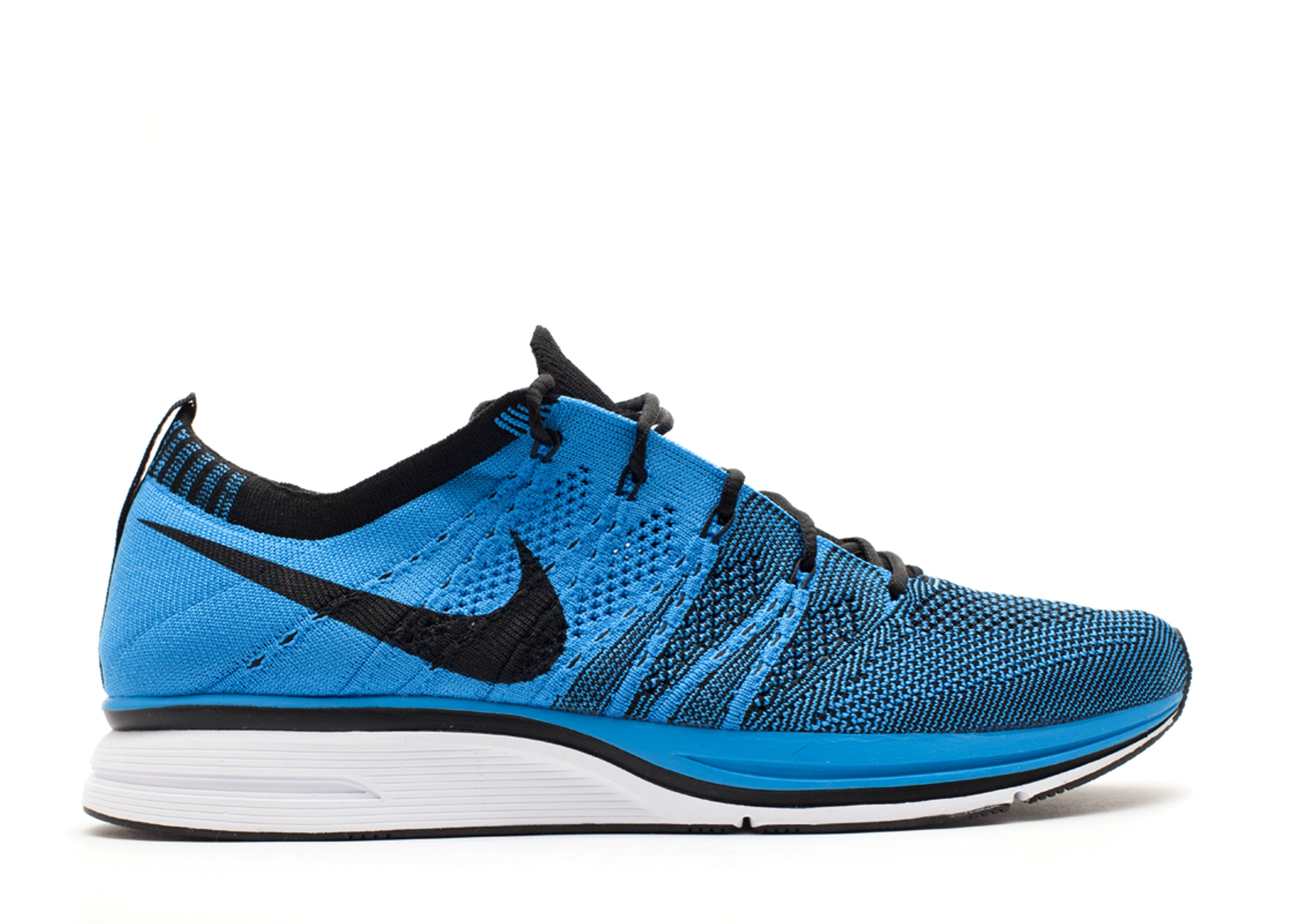 7666a28ba1f0a Flyknit Trainer+ - Nike - 532984 440 - blue glow blue tint-black ...