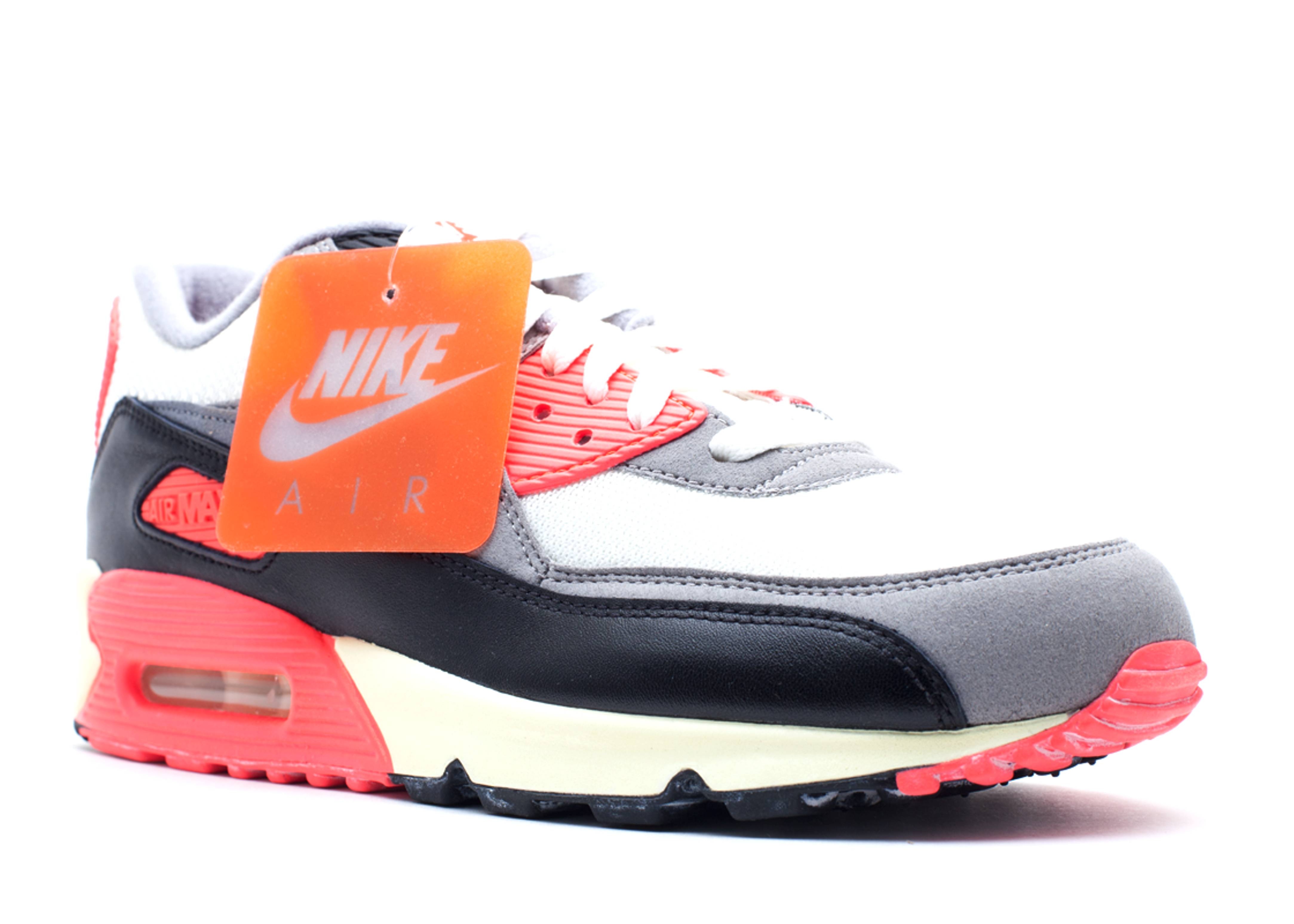 Nike Air Max 90 OG Sail Cool Grey Medium Grey Infrared Profile . air max 90  og ...