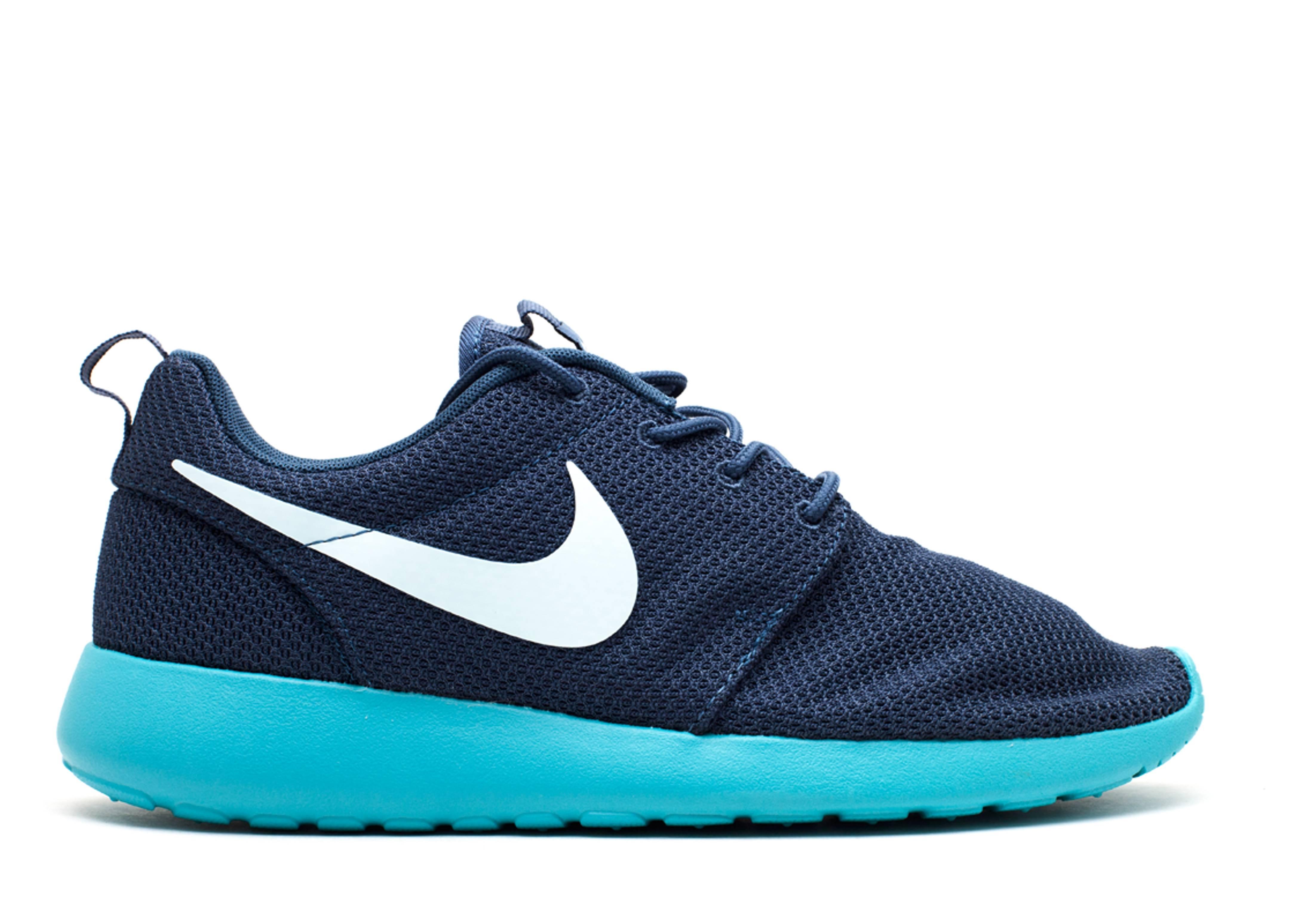 Rosherun - Nike - 511881 443 - squadron blue fbrglss-sprt trq ... 09197aae2f