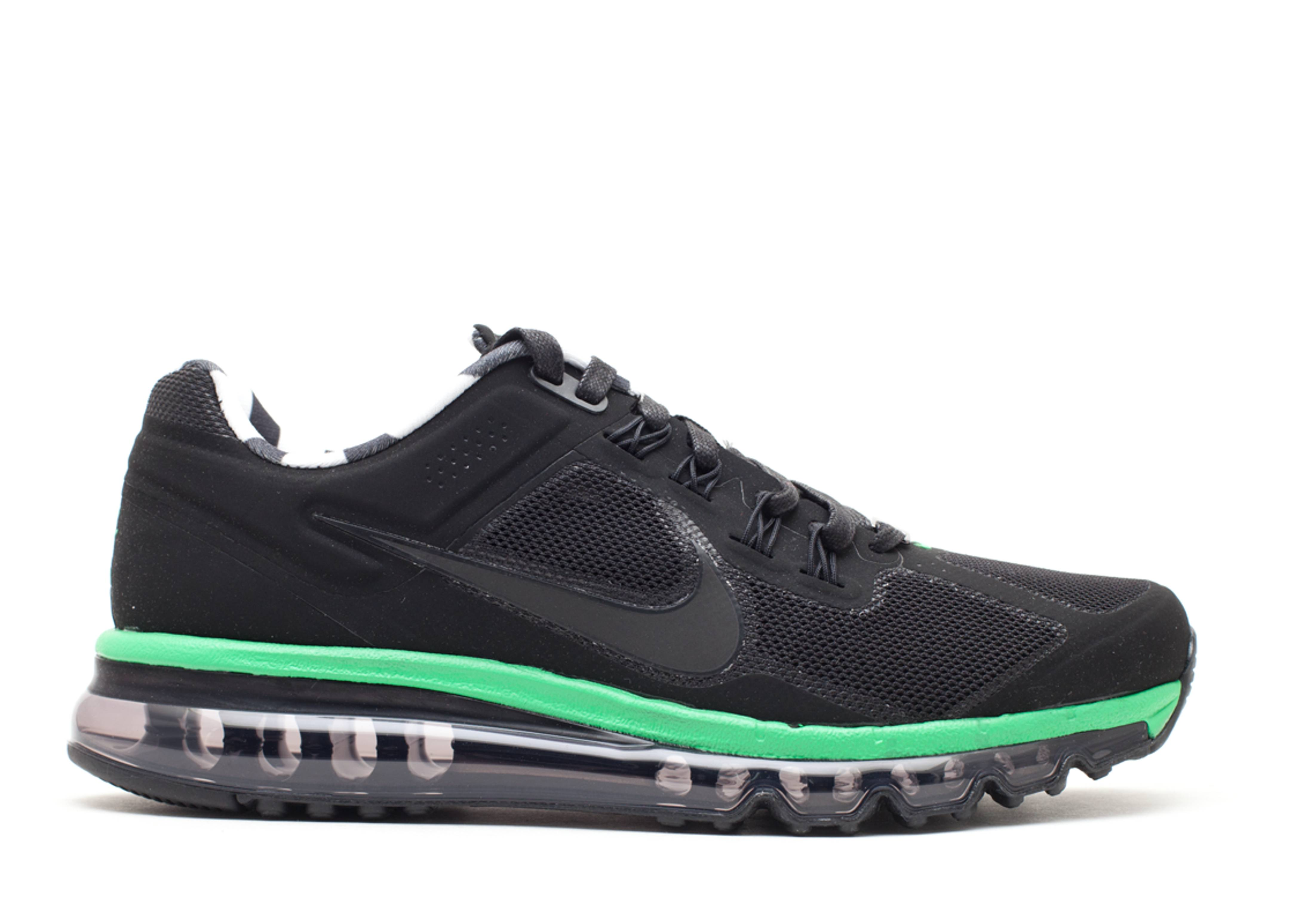 Air Max 2013+ Paris Qs - Nike - 586851 003 - black black-lush green-black  9420f1e7f8be