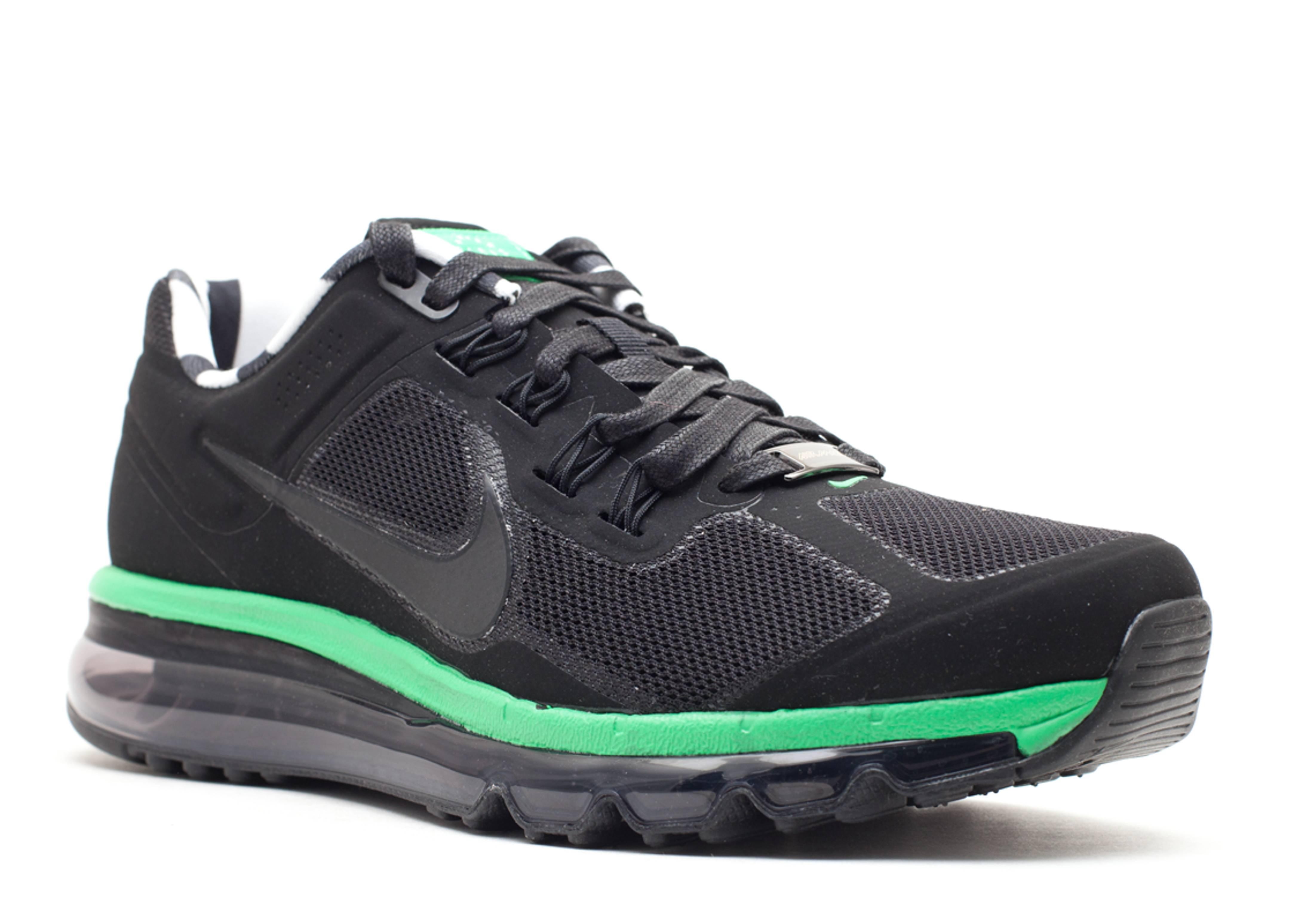 Nike Air Max 2013 Mens Apple Green Black Running Shoes