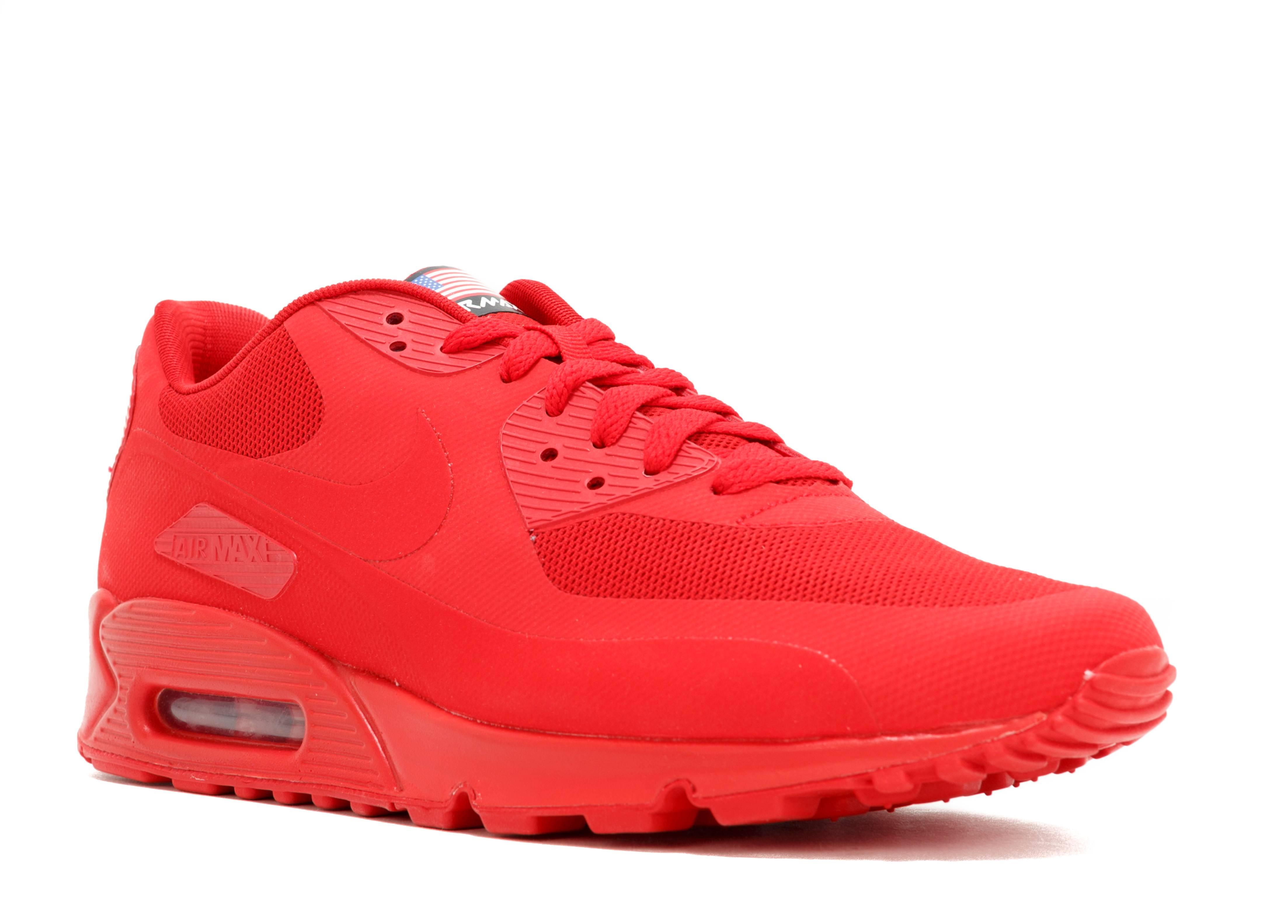 pesadilla preocupación Vaticinador  Air Max 90 Hyperfuse QS 'USA' - Nike - 613841 660 - sport red/sport red |  Flight Club