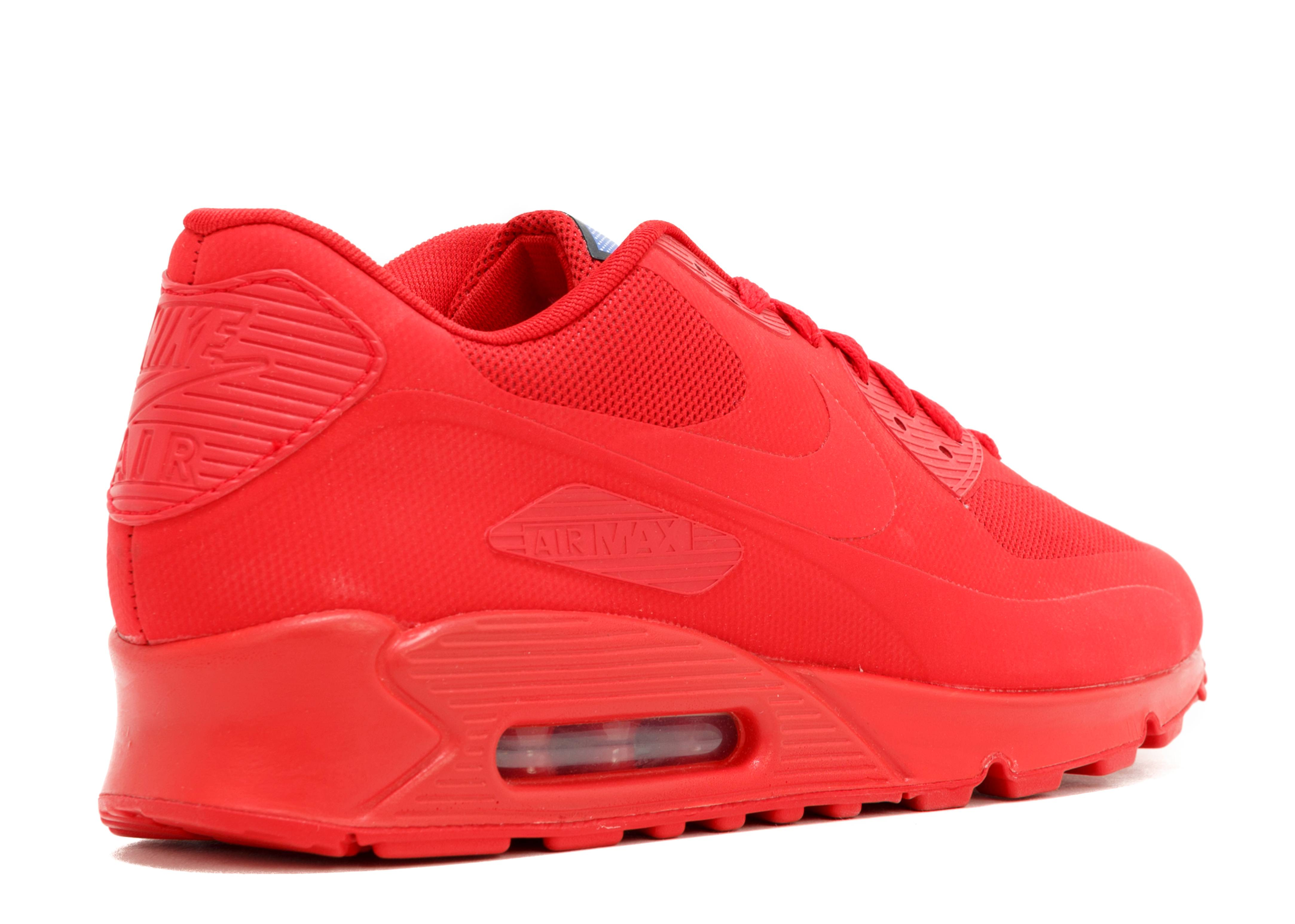 Nike Air Max 90 Hyperfuse Qs Día De La Independencia Total De Tinte Rojo