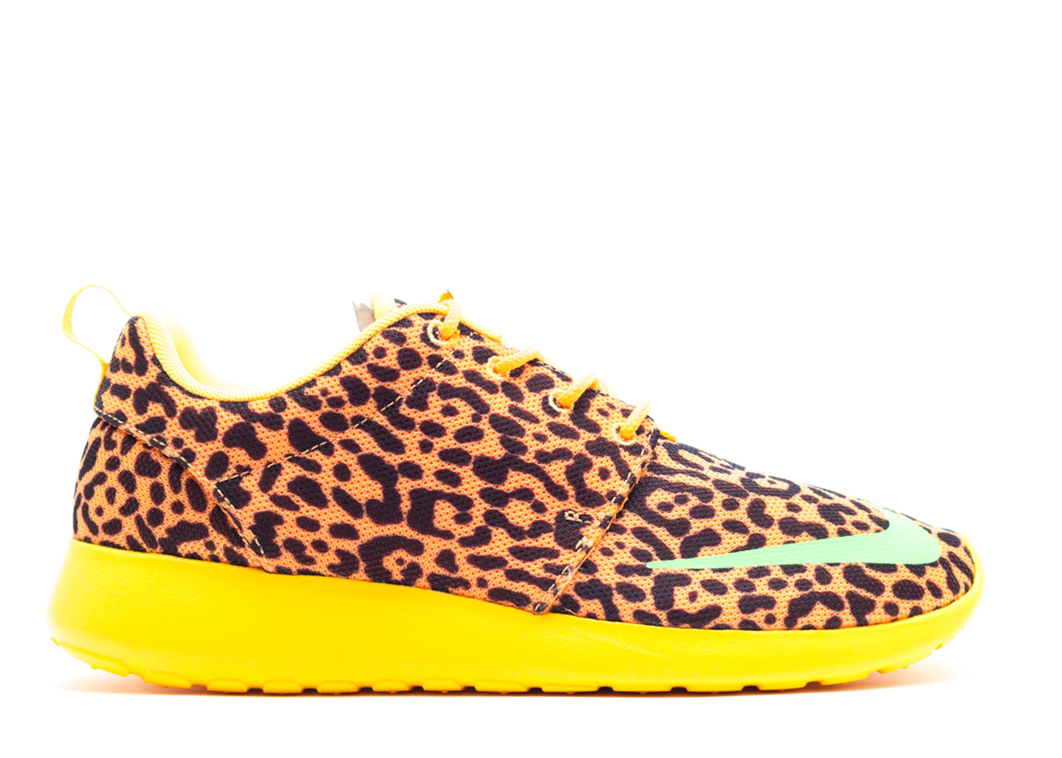 Nike Roshe Run Pattern Damen Leopard Running Schuhe Hersteller