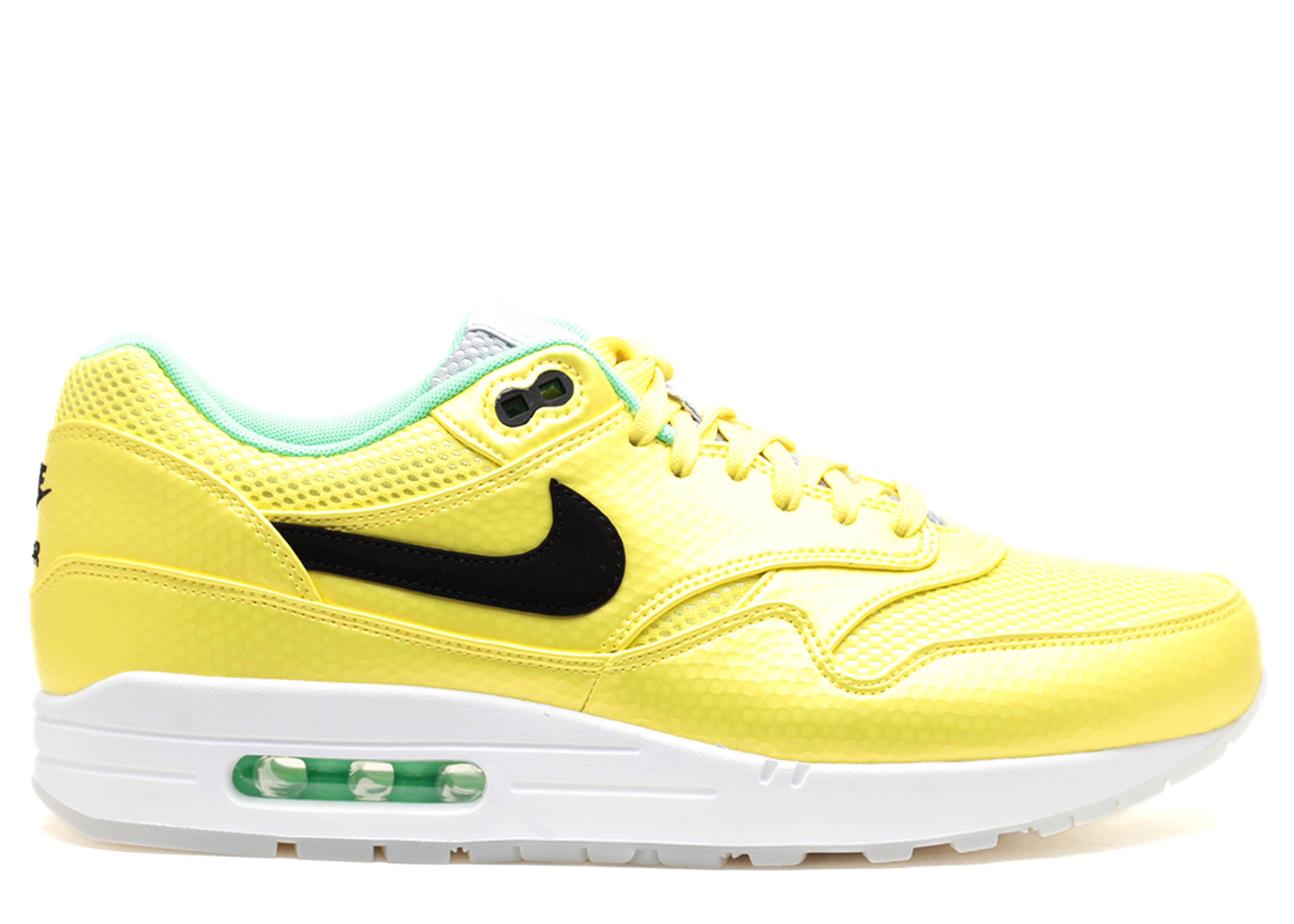 Nike Air Max 1 FB Premium QS Mercurial Pack Vibrant Yellow Neo Lime X5t5635