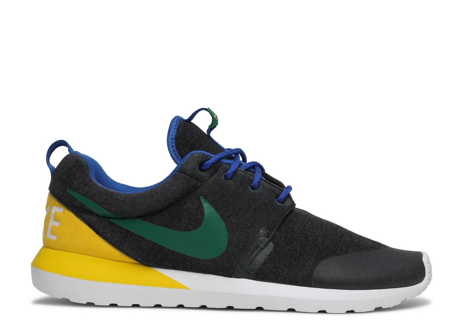 Nike Roshe Exécuter Brasil Mono Noir