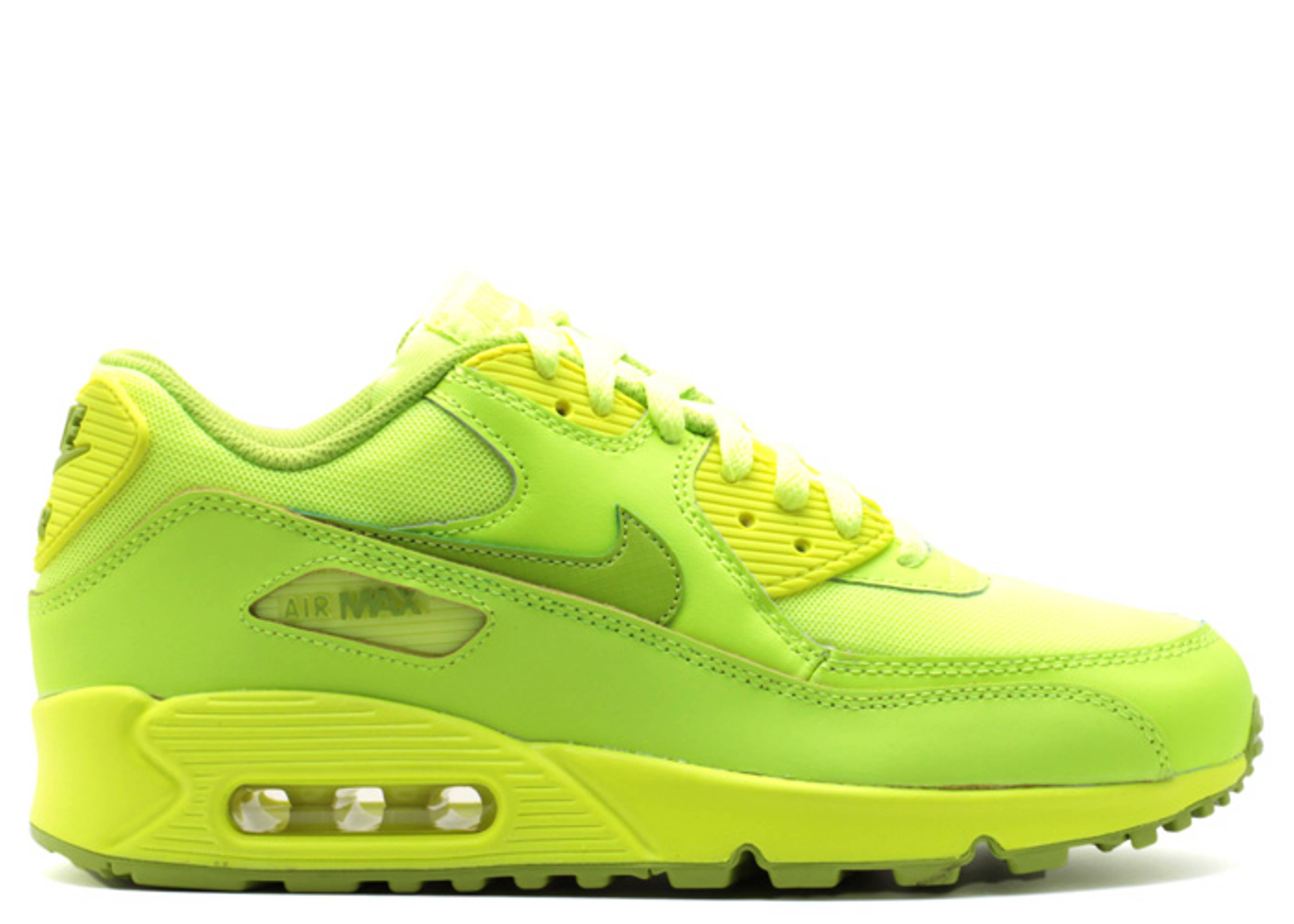 promo code 1df92 91af1 Air Max 90 (gs) - Nike - 307793 700 - volt fierce green   Flight Club