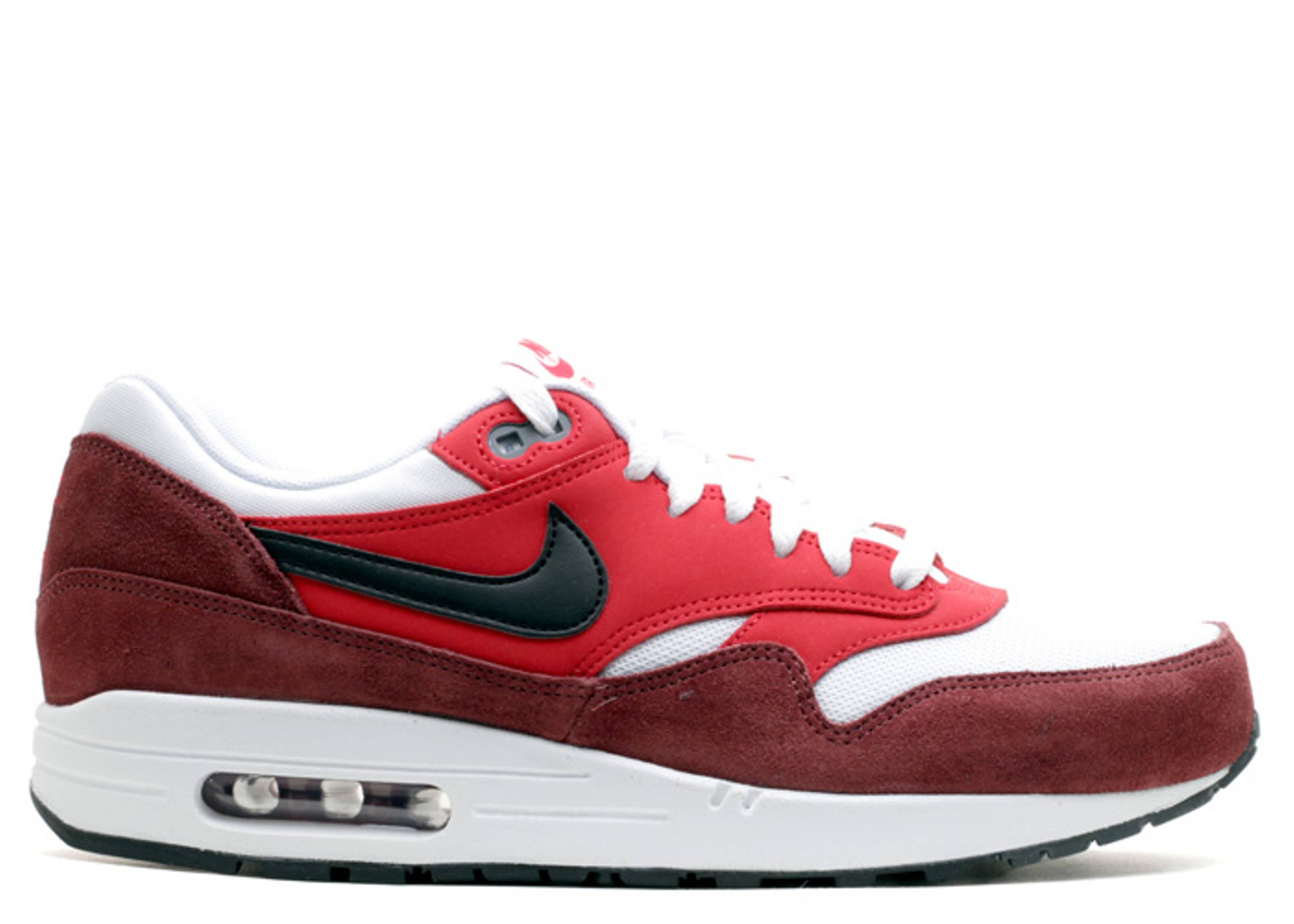 Air Max 1 Essential 'University Red Black' - Nike - 537383 116 ...