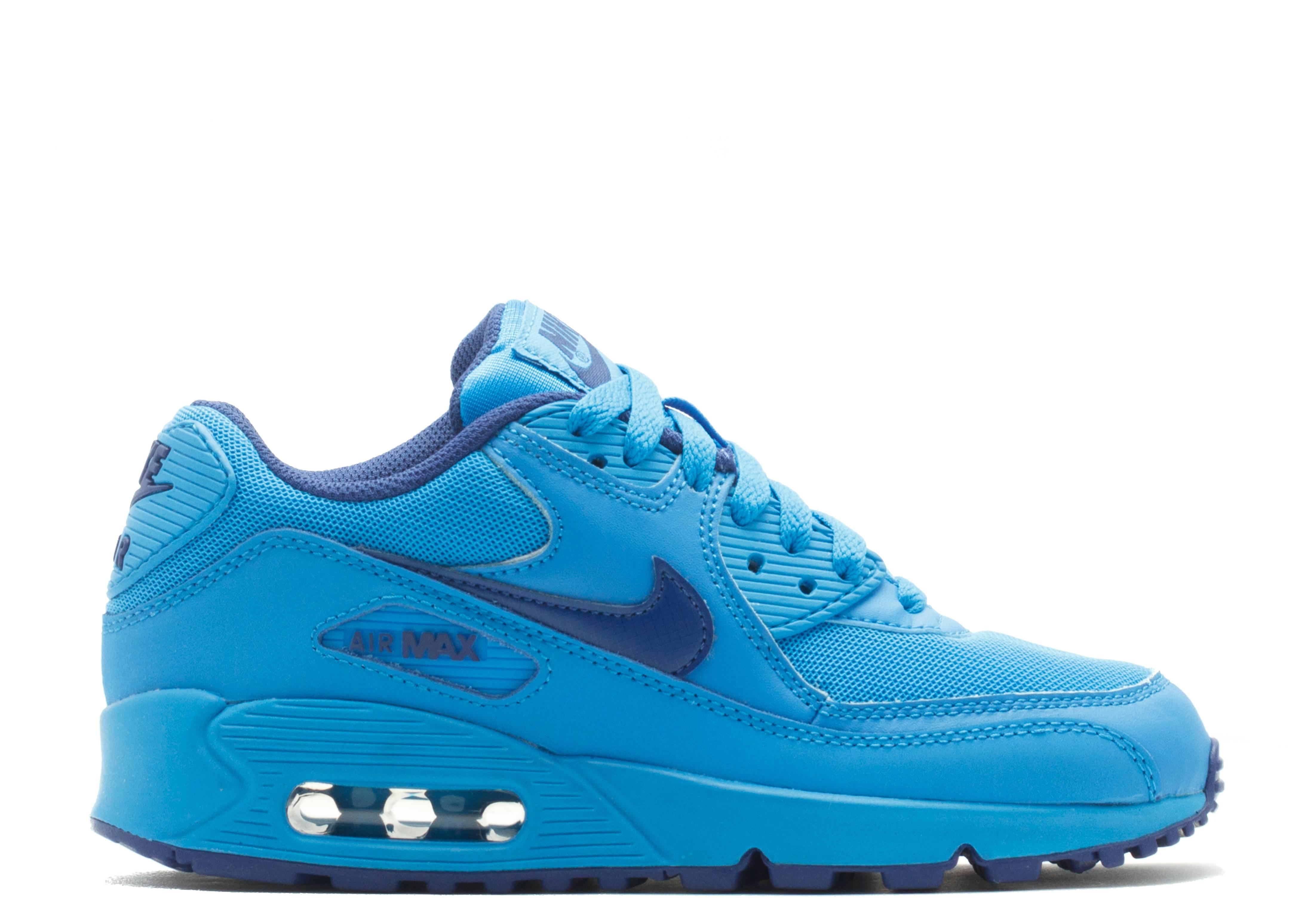 separation shoes 4b371 85695 Air Max 90 (gs) - Nike - 307793 408 - photo blue deep royal blue   Flight  Club