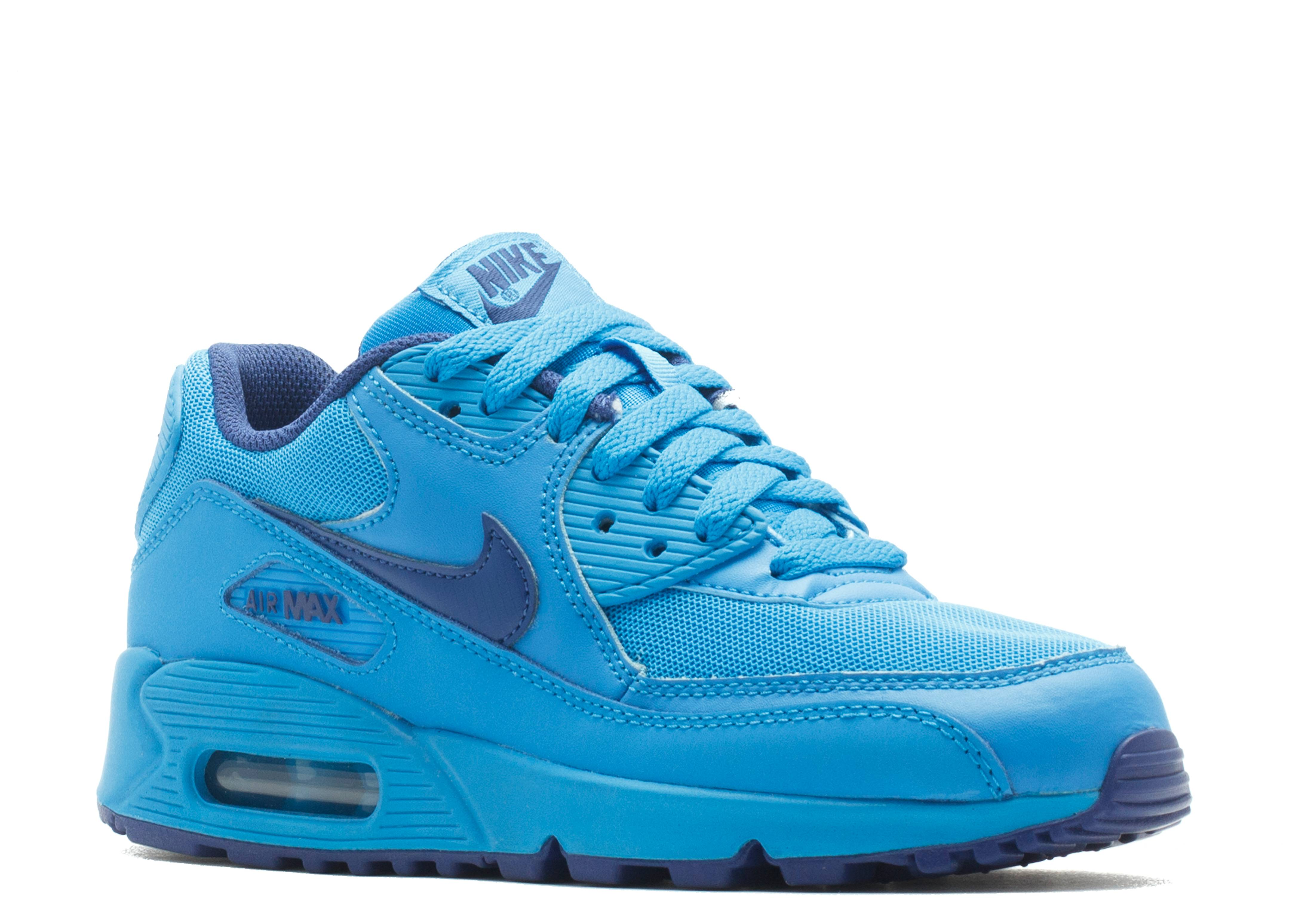 Air Max 90 GS Nike 307793 408 photo bluedeep royal