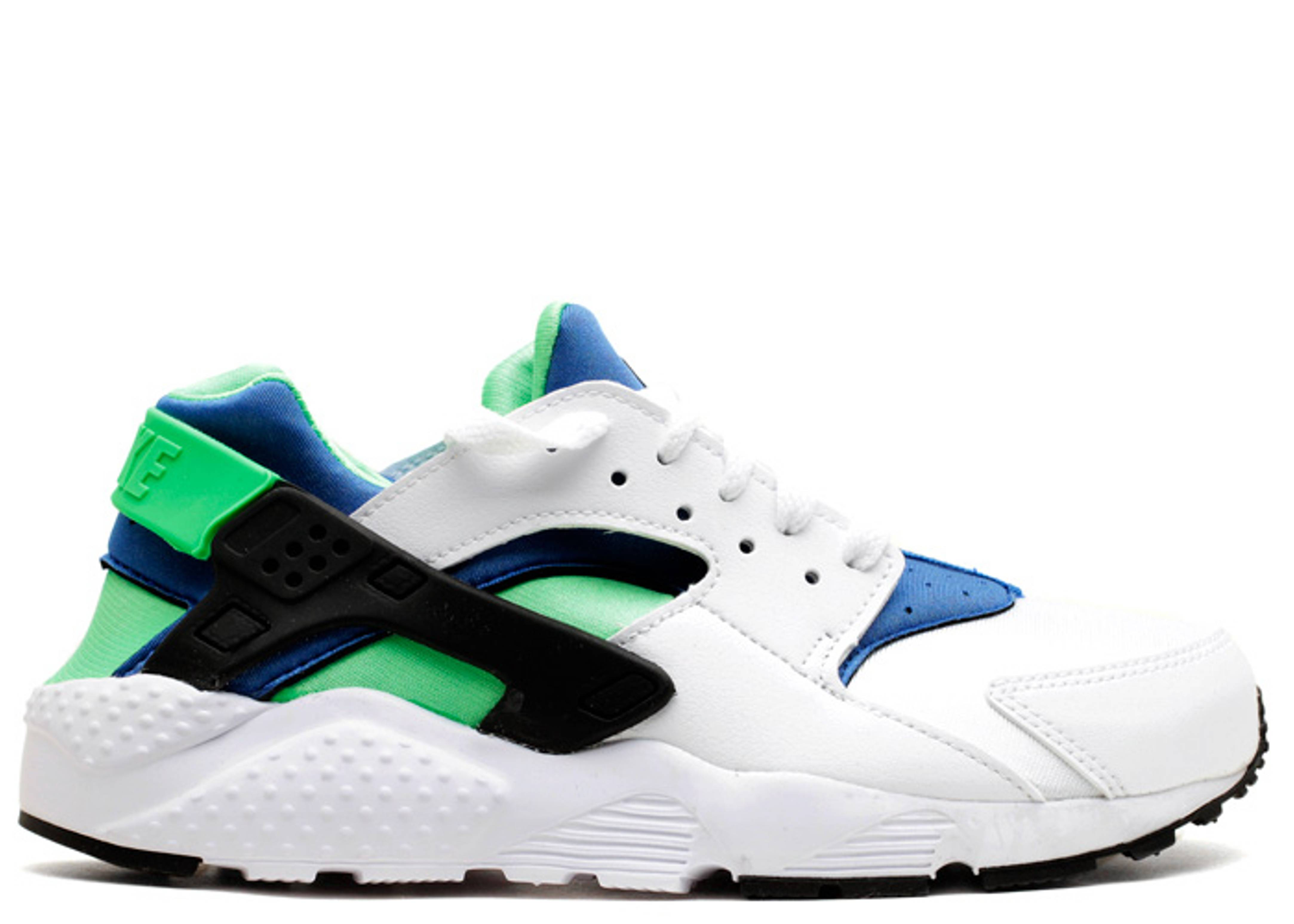 "huarache run (gs) ""scream green"""