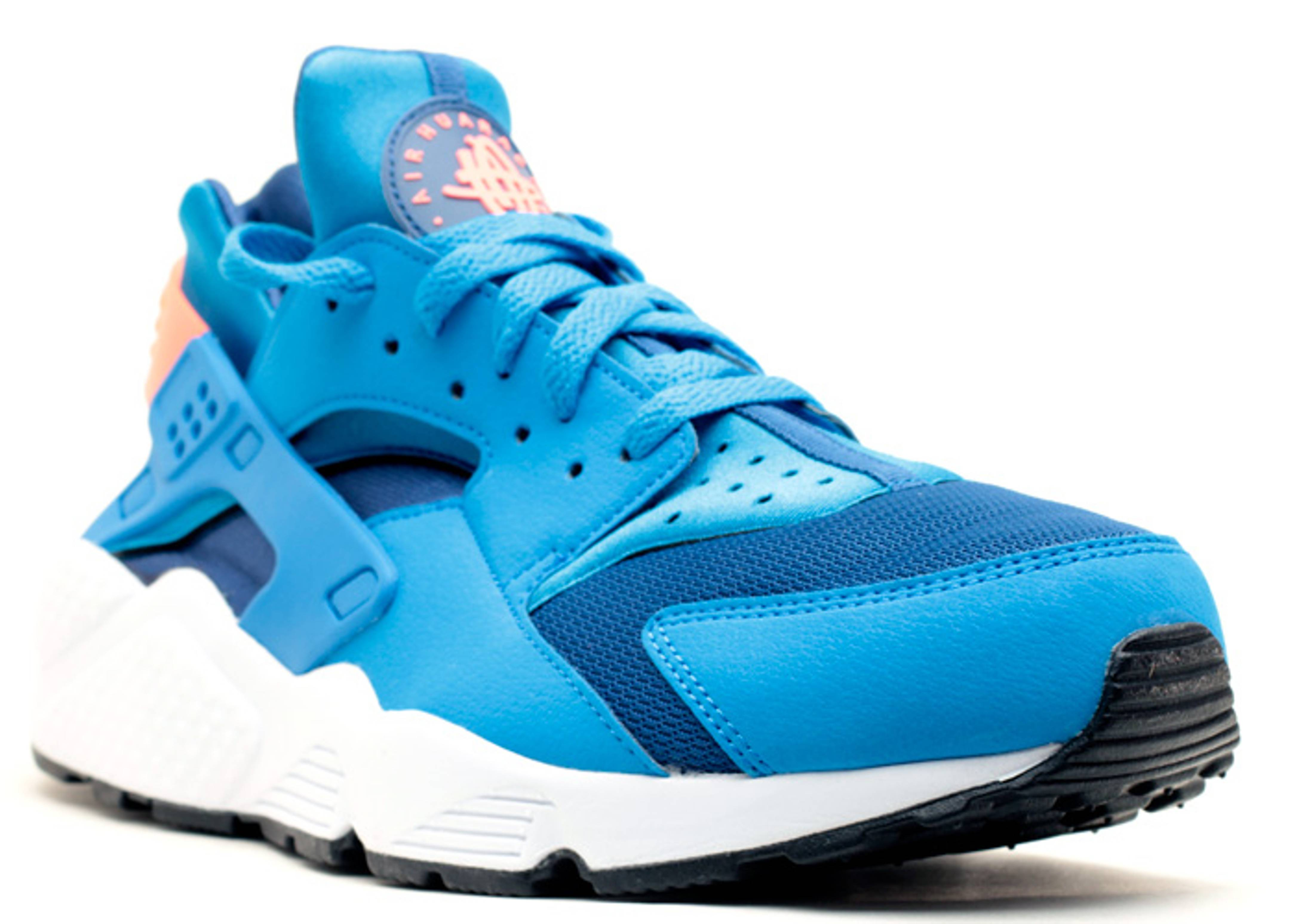 Air Huarache  Nike  318429 402  gym blue/pht blbrght mngwht | Flight  Club
