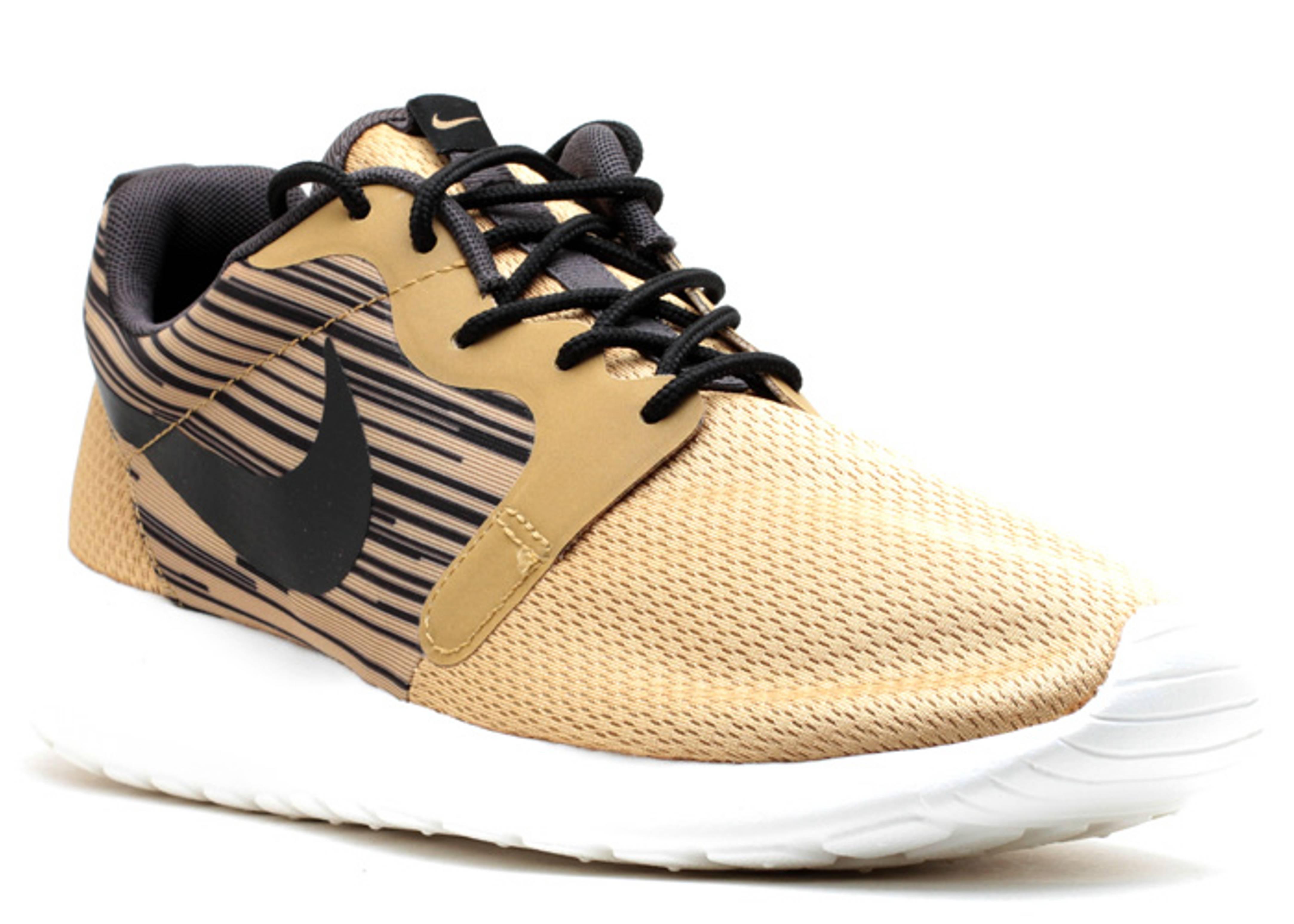 Roshe Run Gold Beige