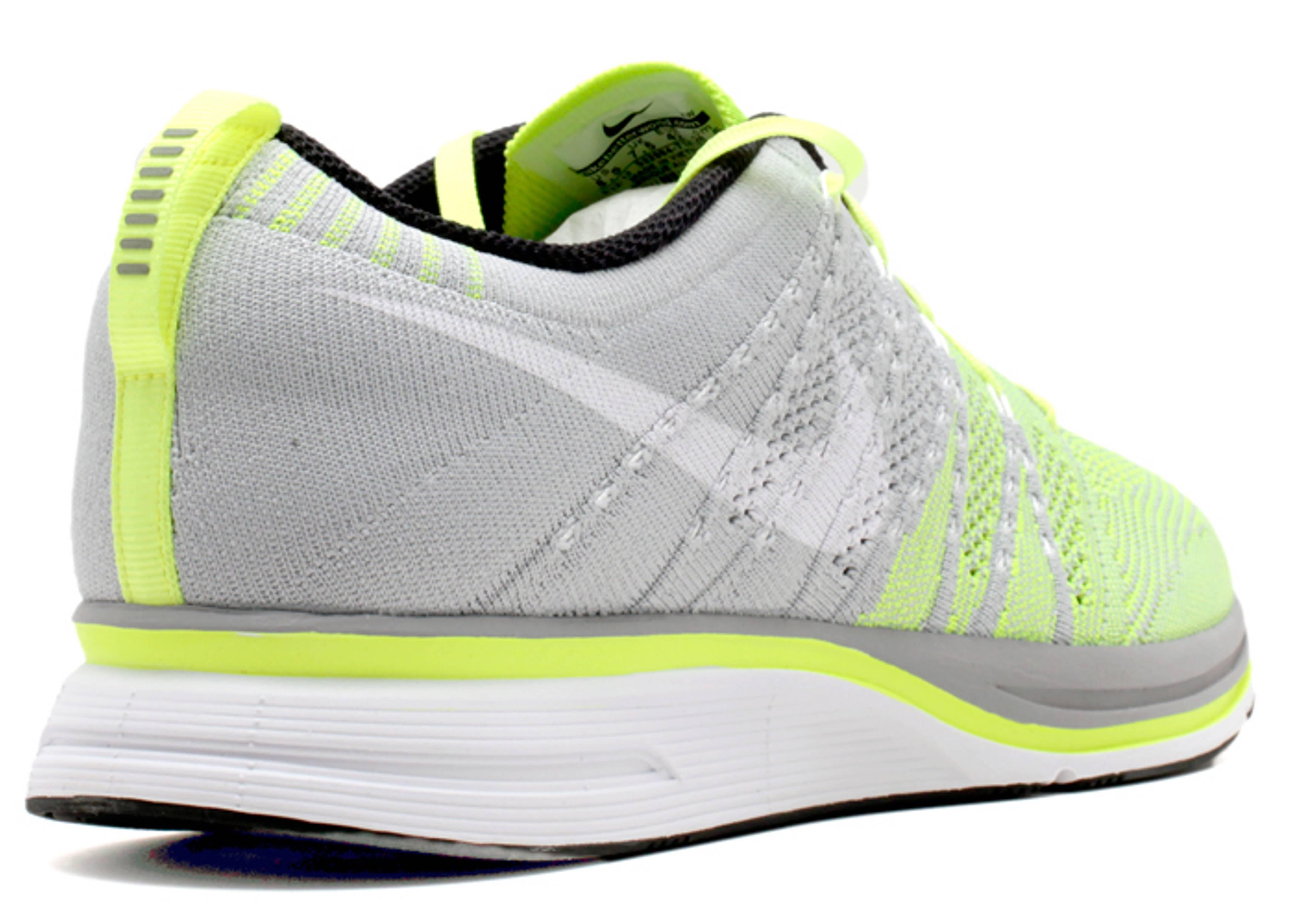 Flyknit Trainer Nike 532984 714 Volt White Tarp