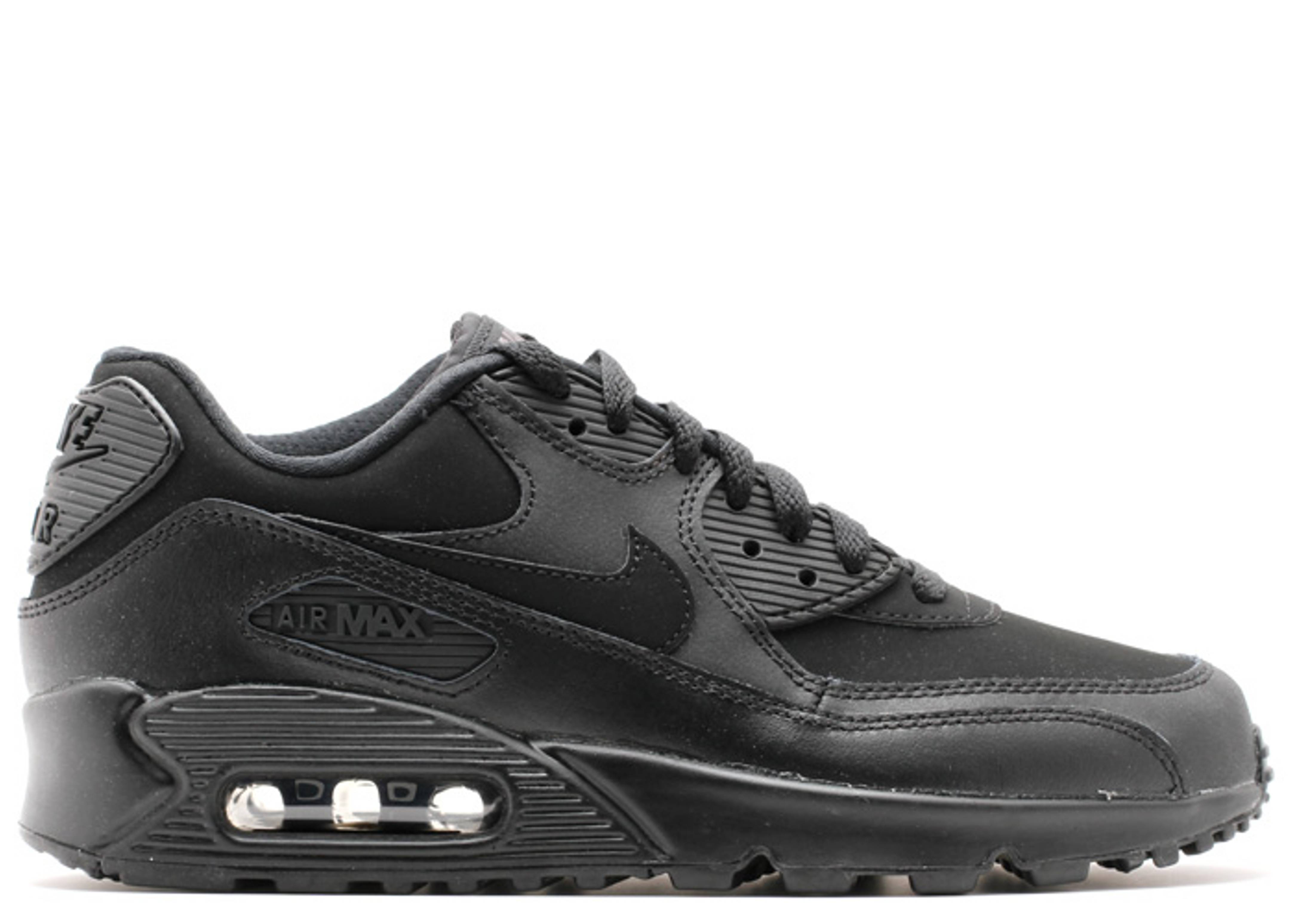"air max 90 (gs) ""Black Grey"""