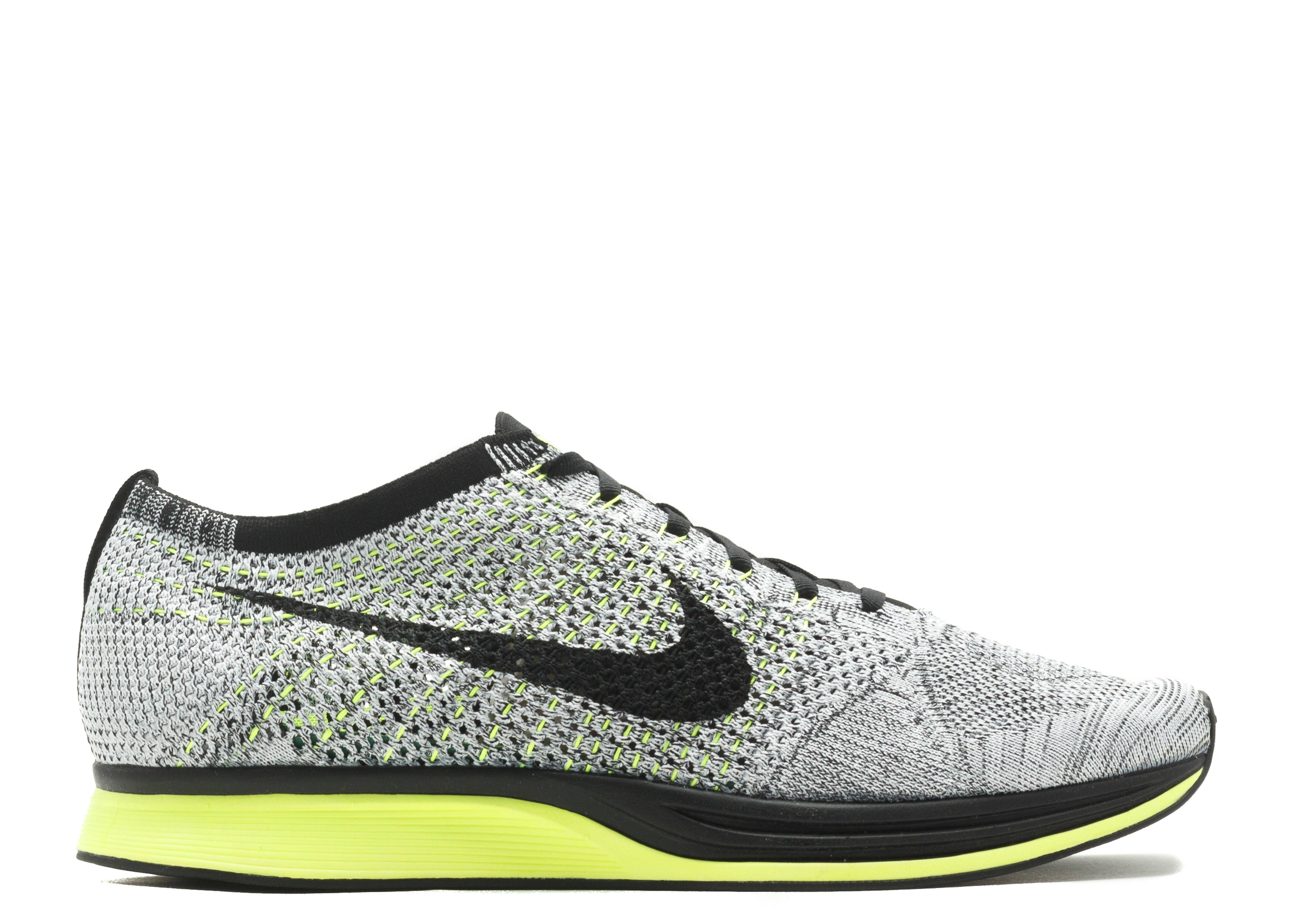 Nike Racer Flyknit Compagnies Malaisie Oreo Volts réduction Finishline WlZMYYo