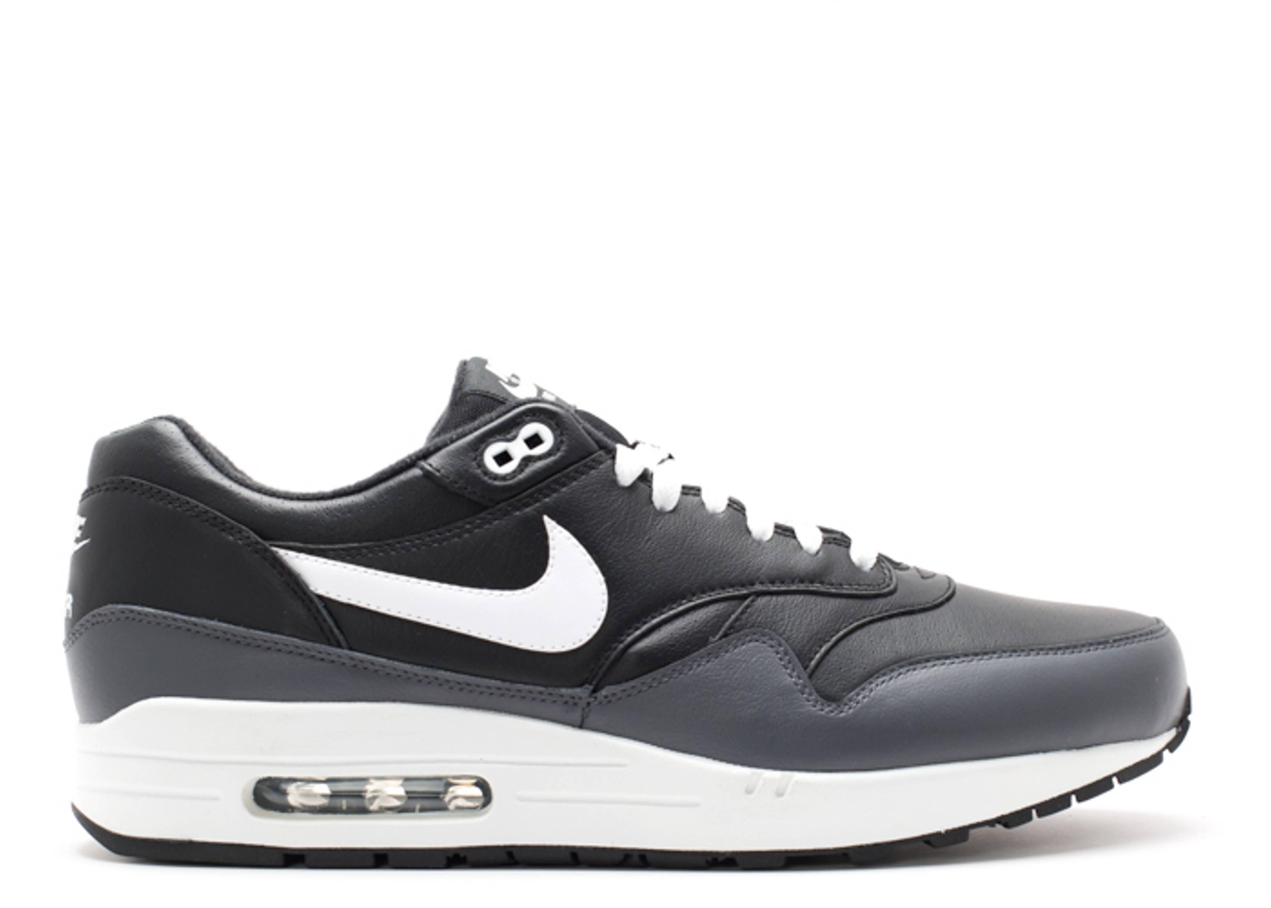 air max 1 black white grey