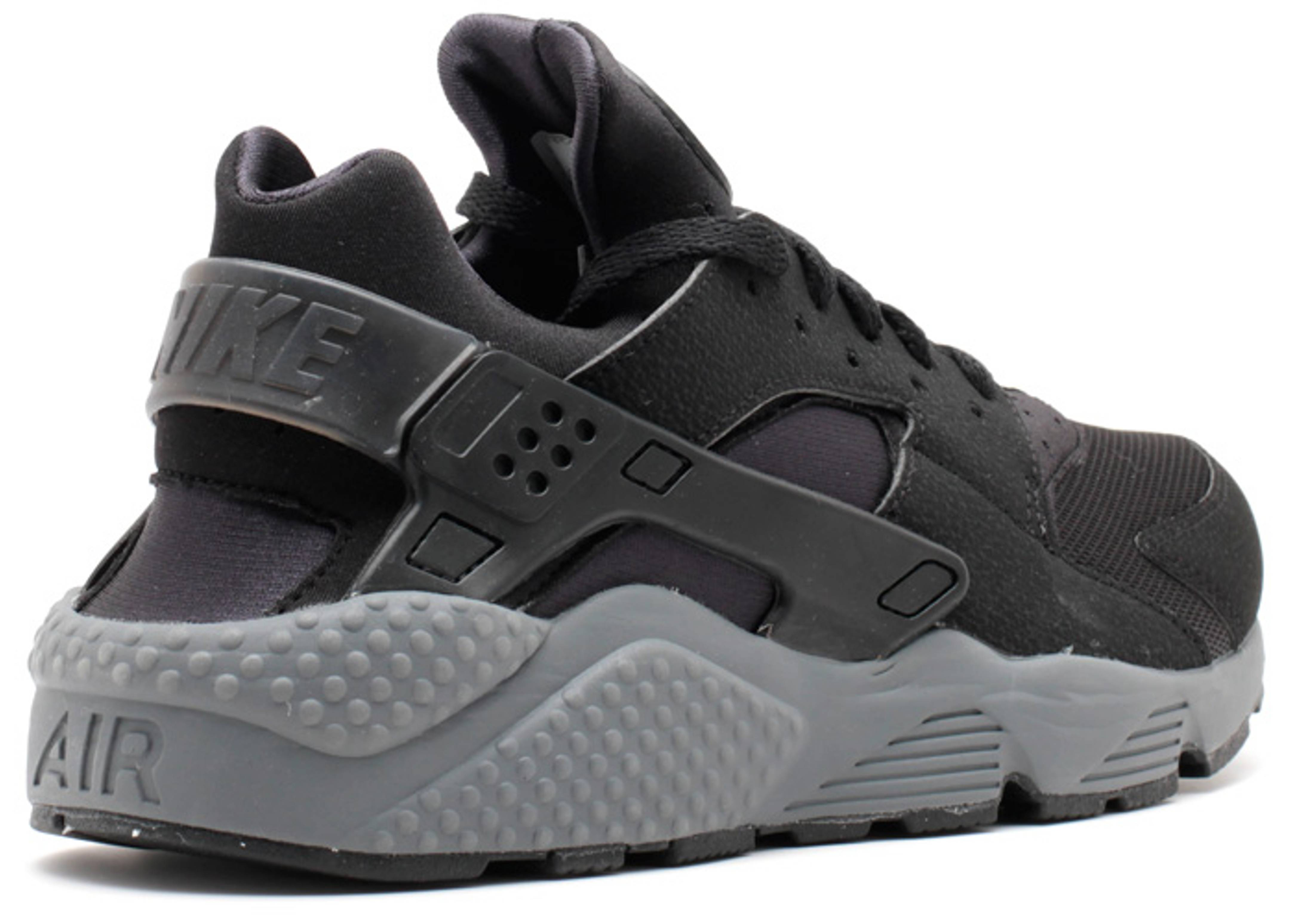 2b03f65f6e15 ... Air Huarache - Nike - 318429 010 - blackblack-black-dark grey Flight  Club ...