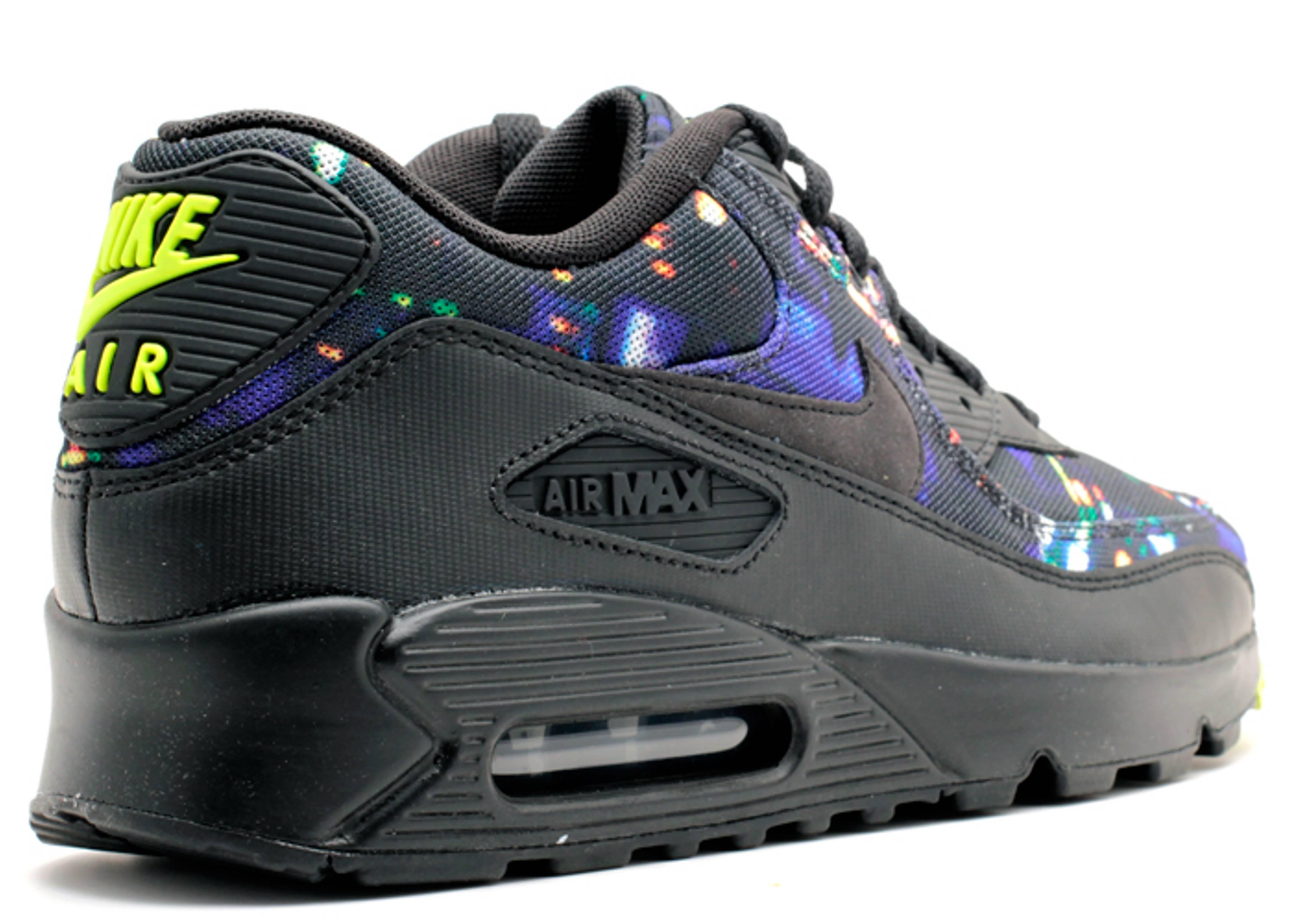 free shipping 43441 2e765 Air Max 90 Prm - Nike - 700155 070 - black/black-volt-dark ...