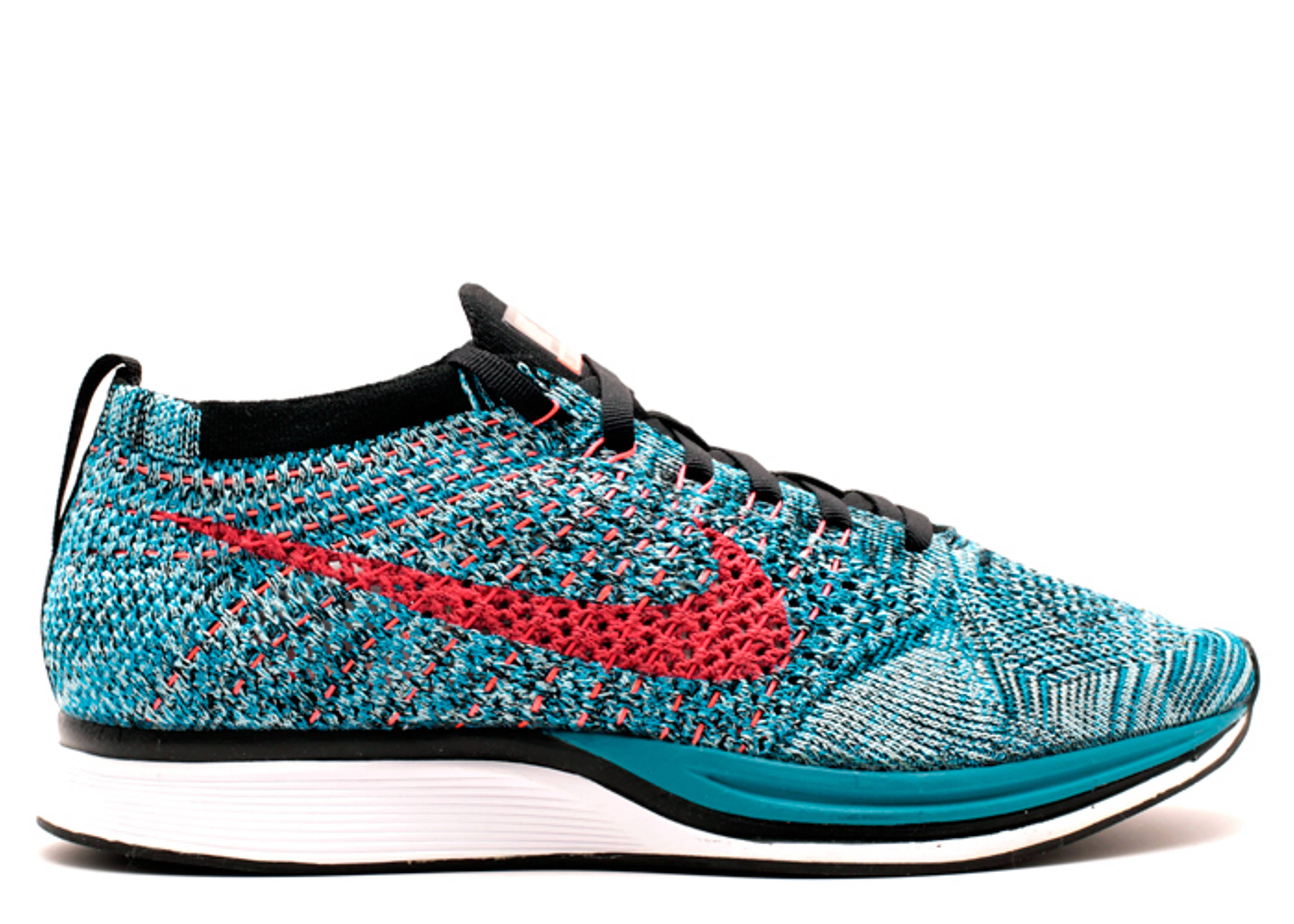 """flyknit racer """"Neo Turquoise"""""""