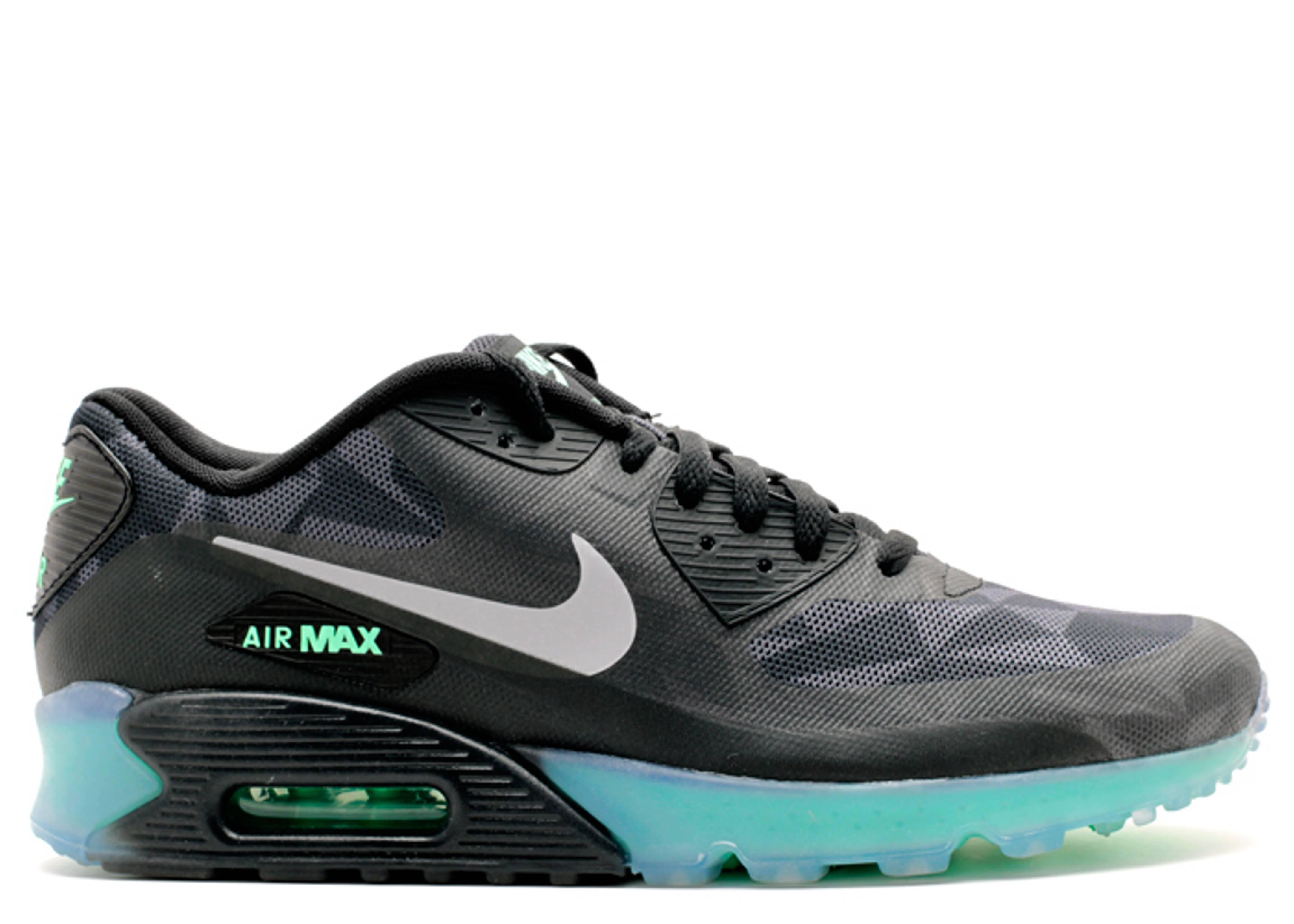 e9c0eaa4f0 Air Max 90 Ice Qs - Nike - 718304 001 - black/cool grey-anthracite-blk |  Flight Club