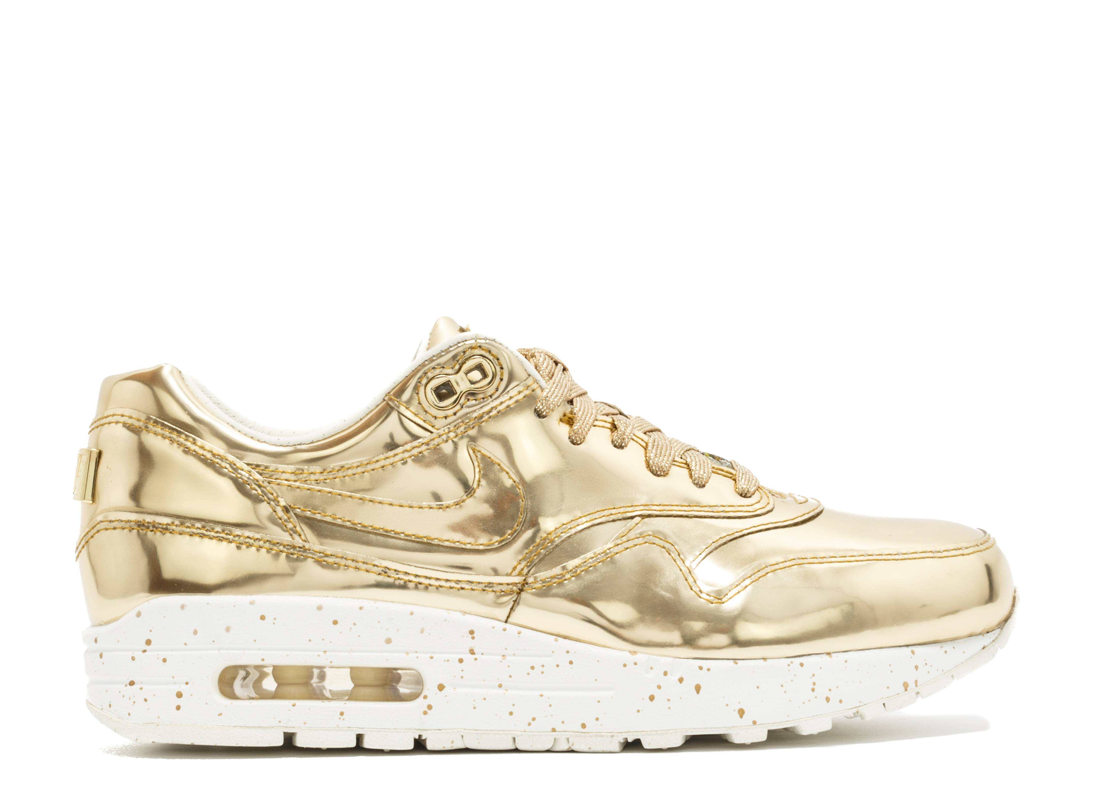 nike wmns air max 1 sp liquid gold