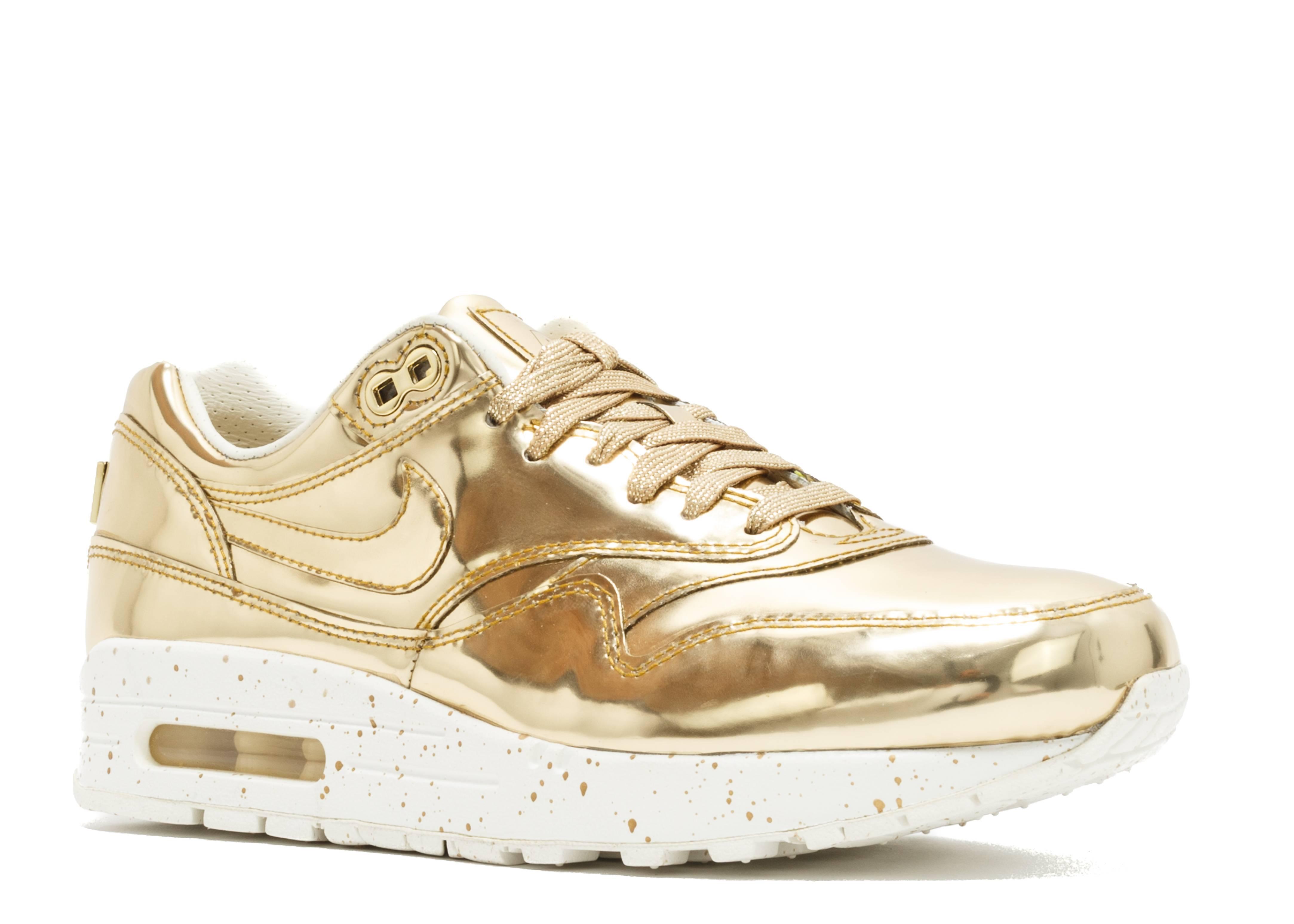 Nike AIR MAX 1 SP 'Liquid Gold' 635786 770: