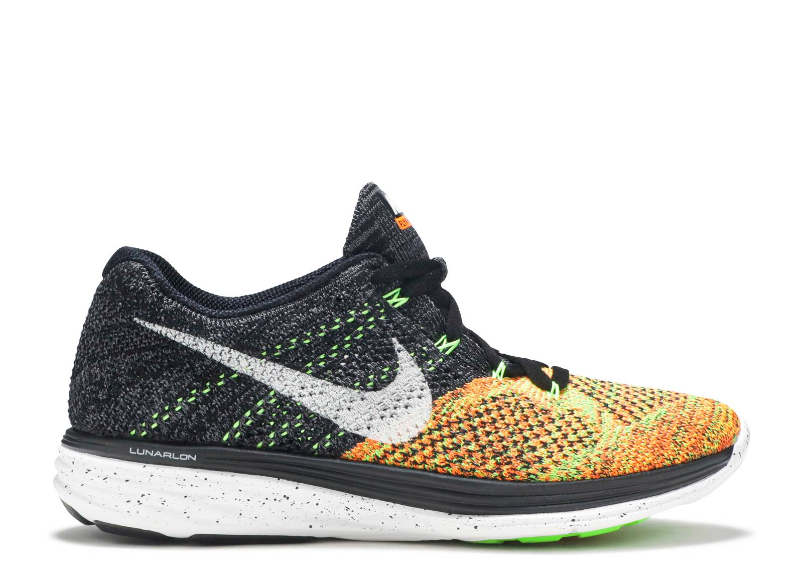 "flyknit lunar3 ""Black Electric Green"""