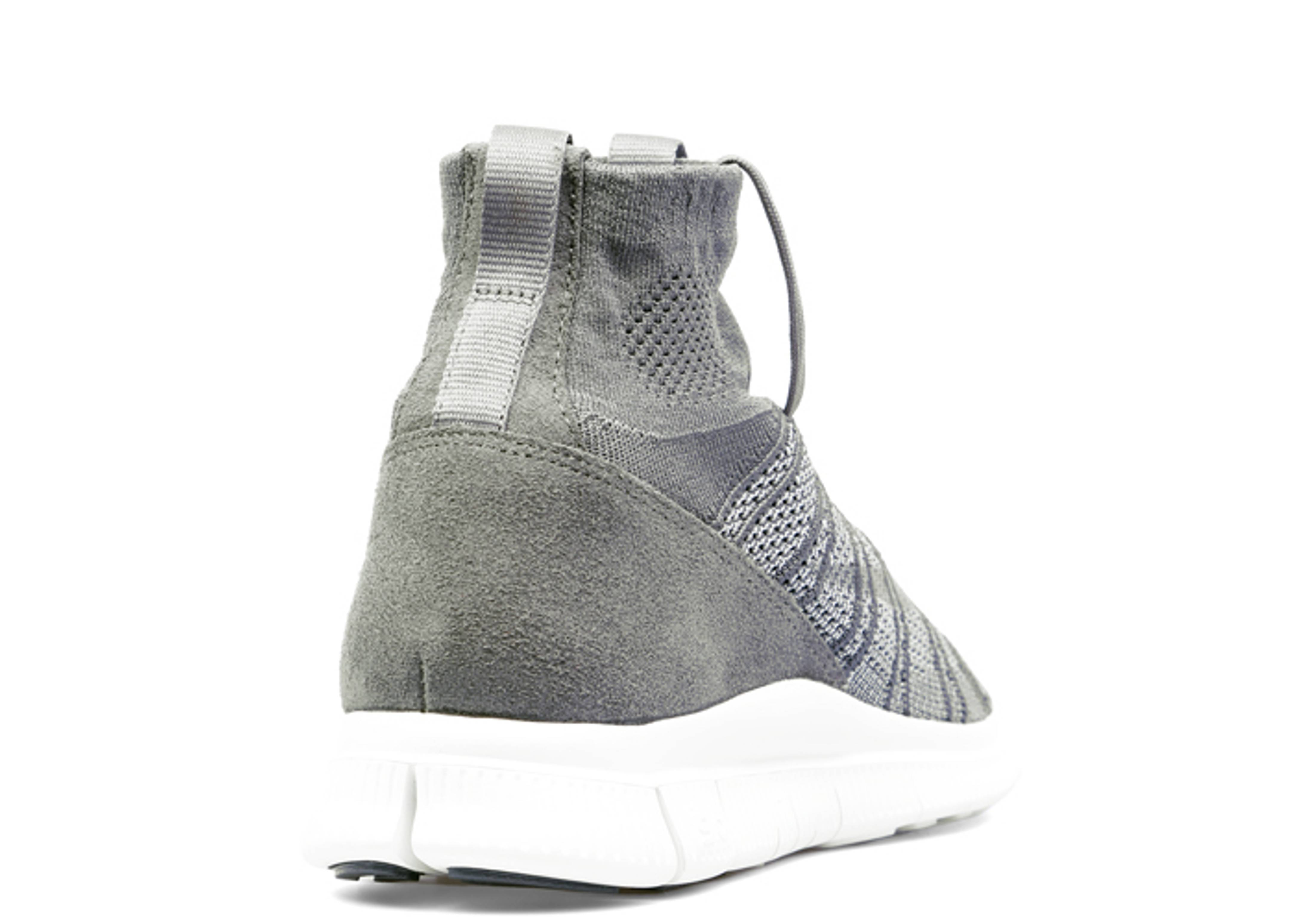 83e4c05f4564 Free Flyknit Mercurial Sp - Nike - 667978 009 - dark grey wolf-smmt white