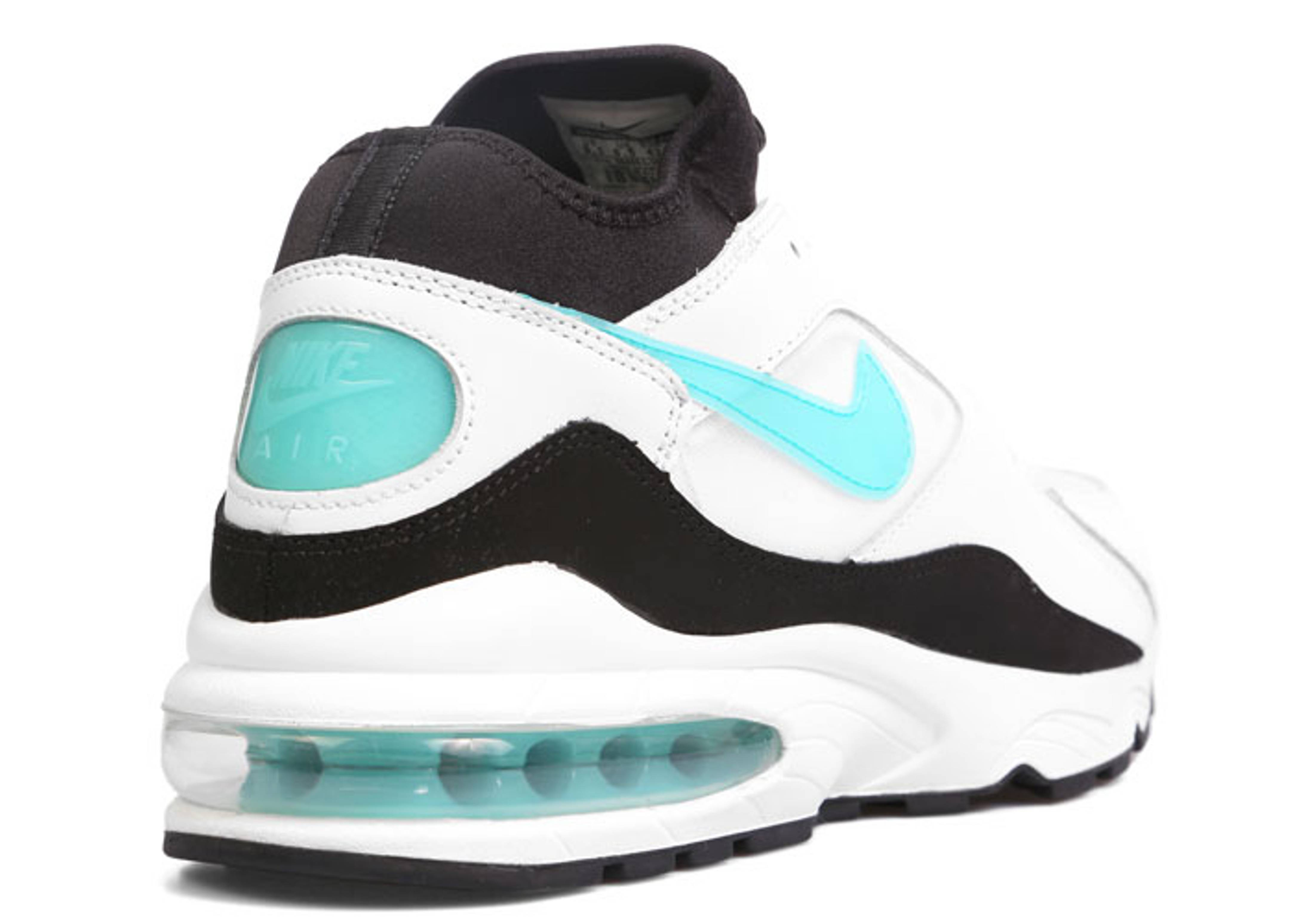 NIKE AIR MAX 93 OG WhiteTurquoise DUSTY CACTUS Men Size 10 #(306551 107)