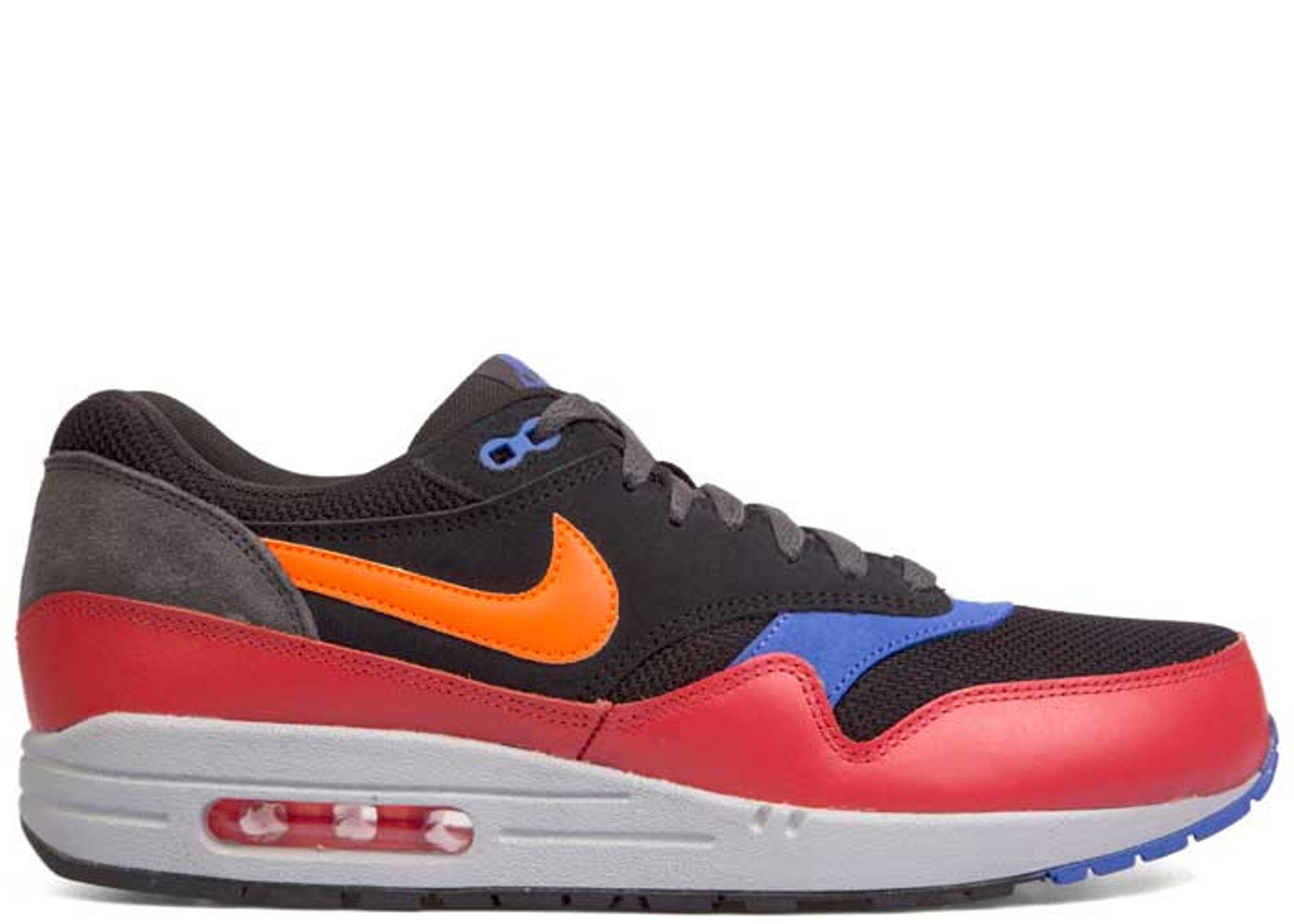 31065683c721ec Air Max 1 Essential - Nike - 537383 017 - black   hyper crimson-red clay