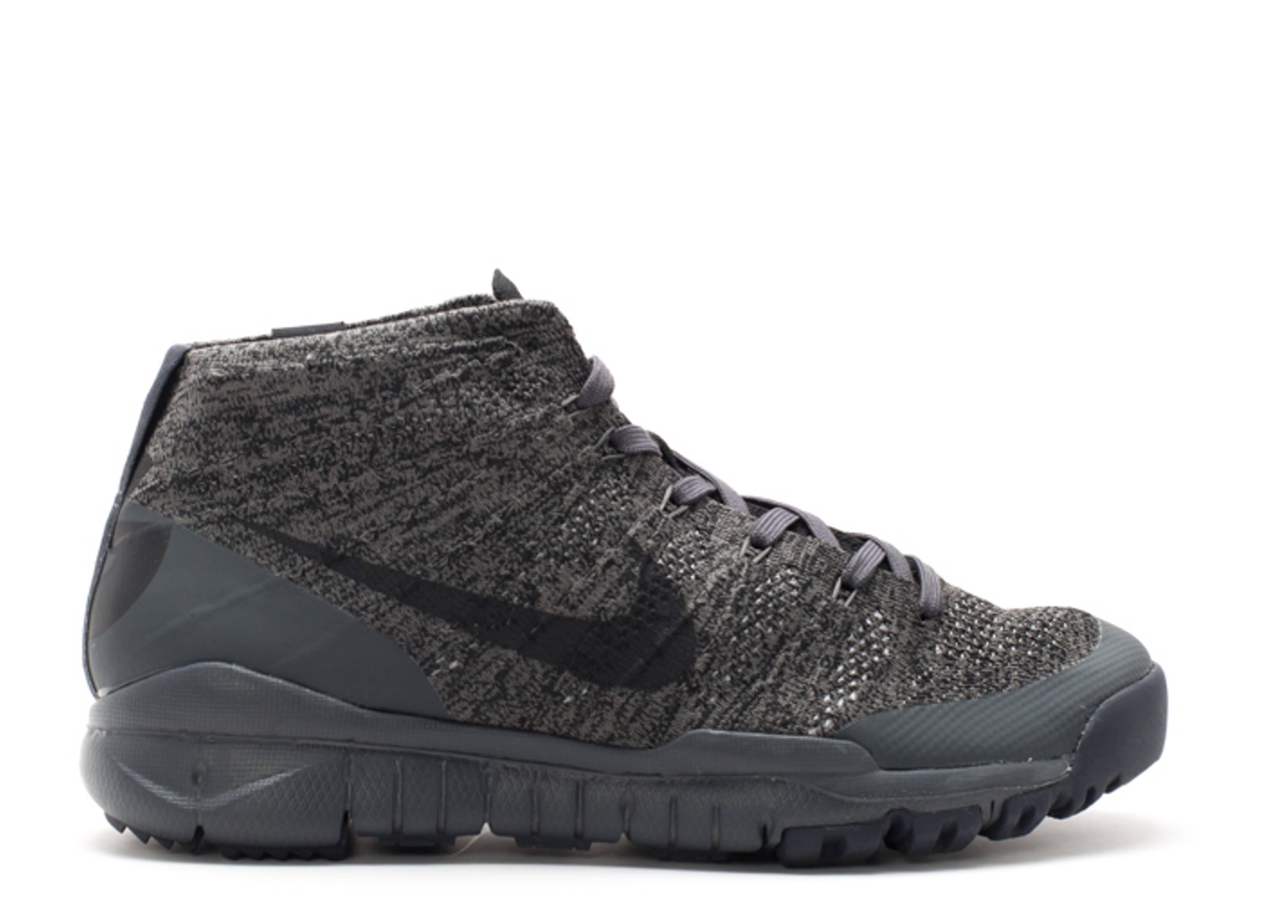 Mens Nike Lupinek Flyknit ACG 826077-001 Black//Black NEW Size 9.5